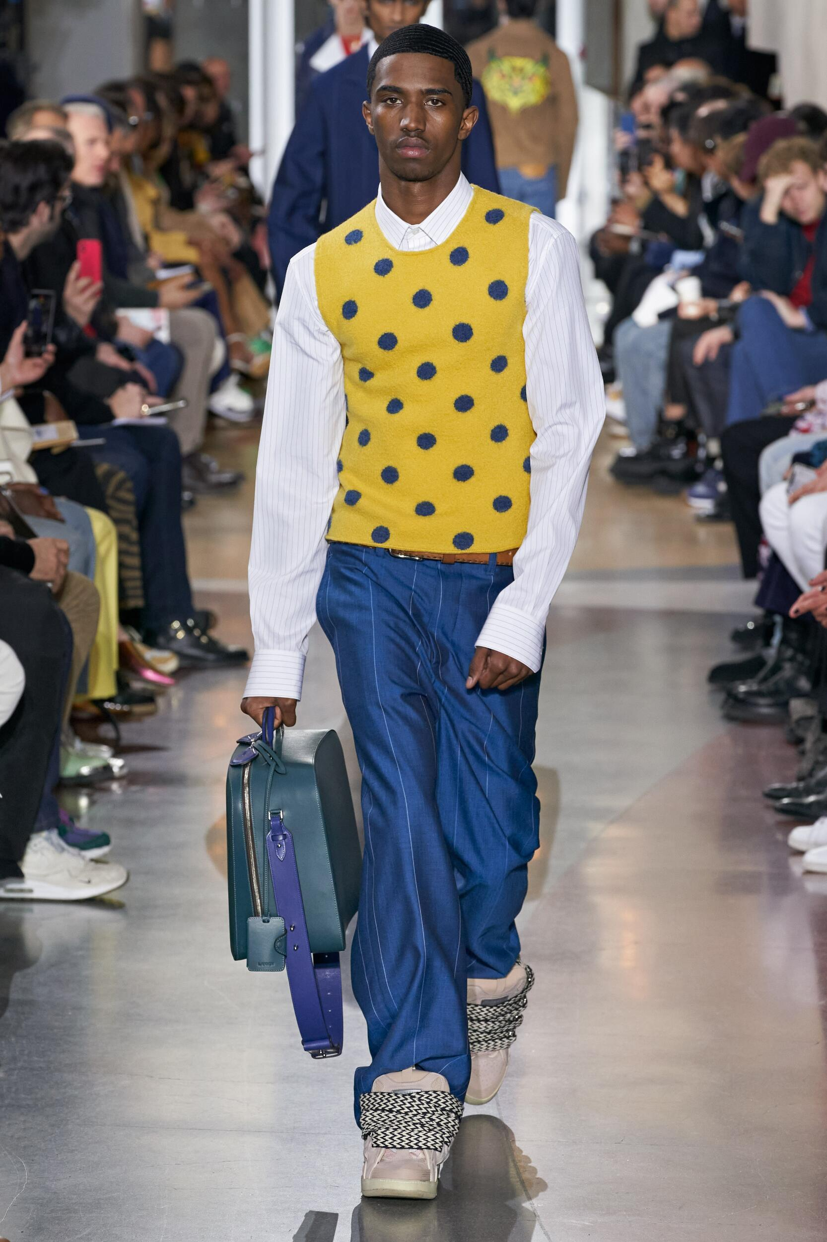 Catwalk Lanvin Man Fashion Show Winter 2020