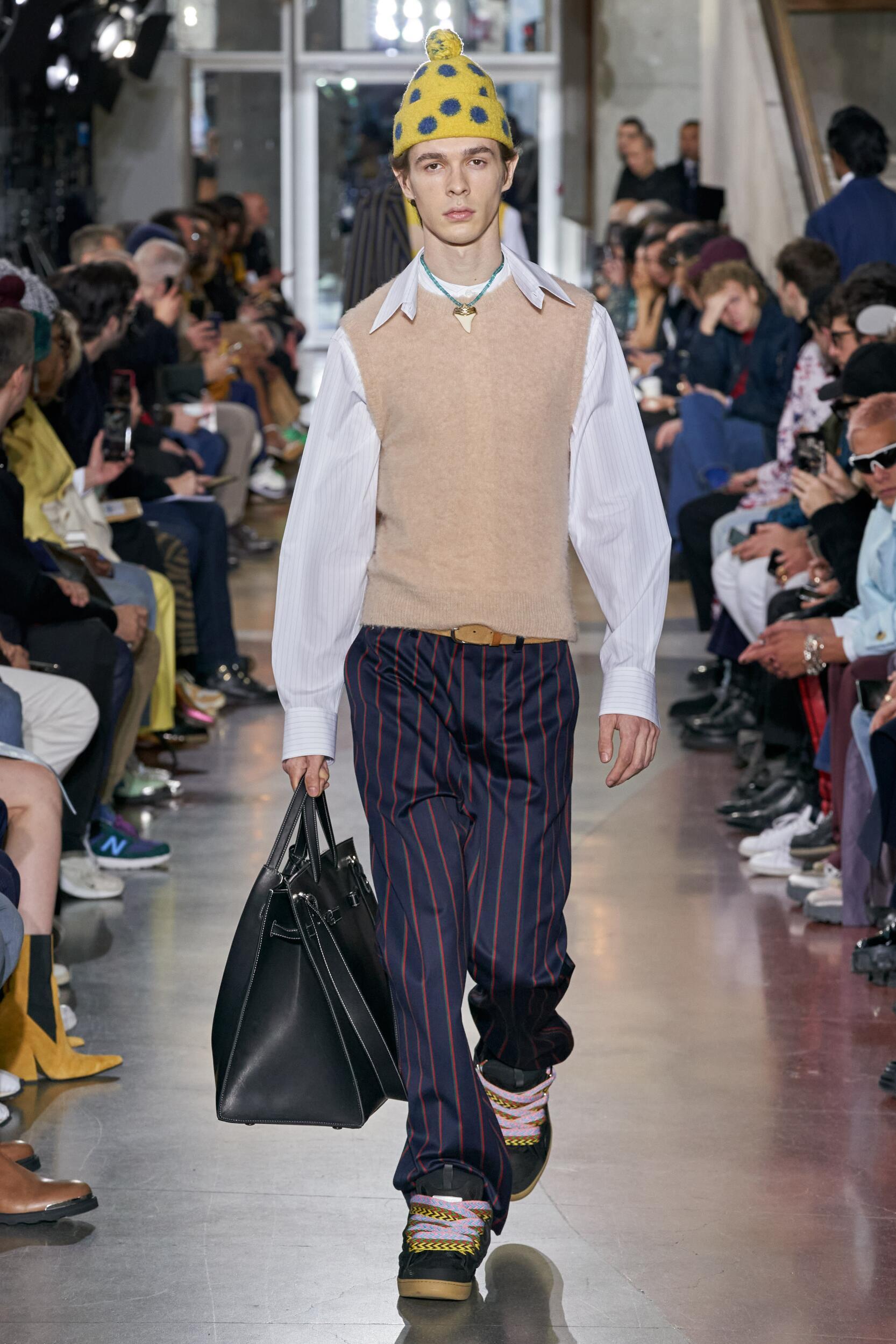 Catwalk Lanvin Men Fashion Show Winter 2020