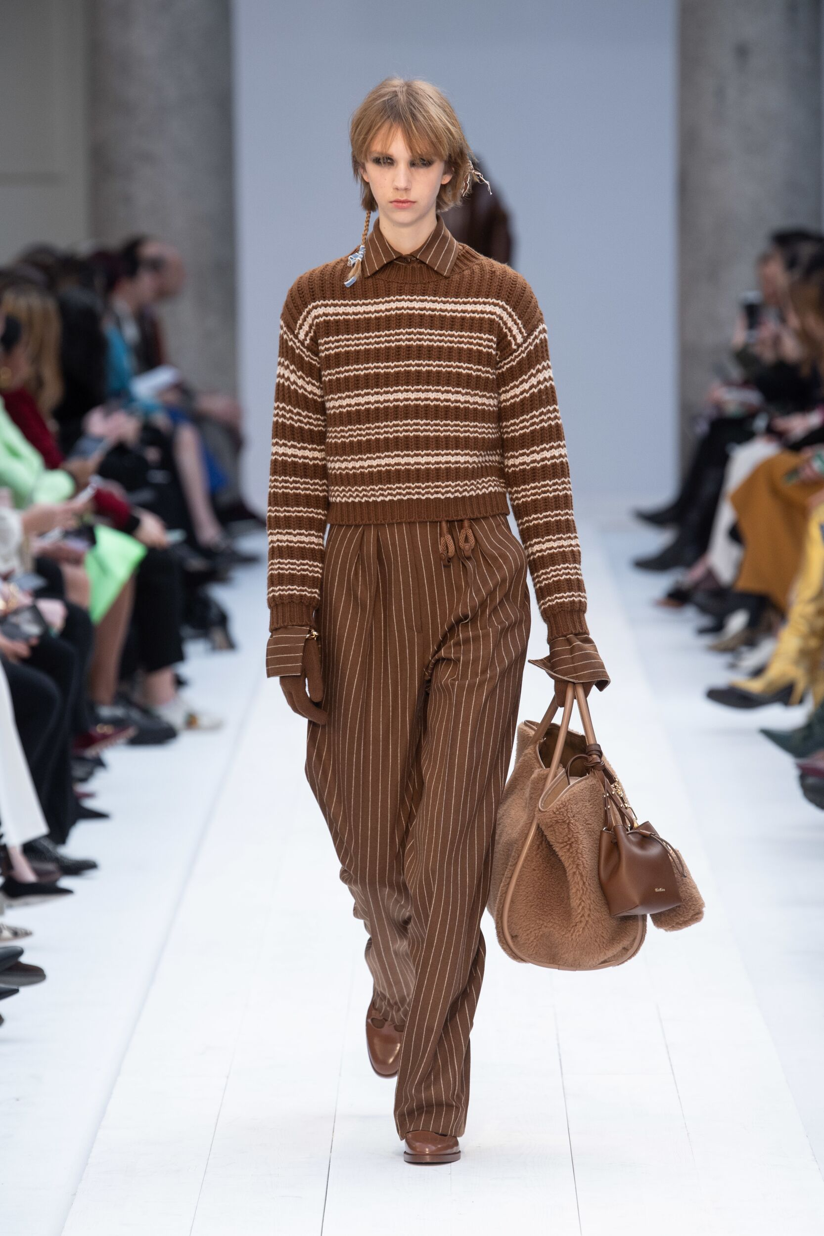 Catwalk Max Mara Women Fashion Show Winter 2020