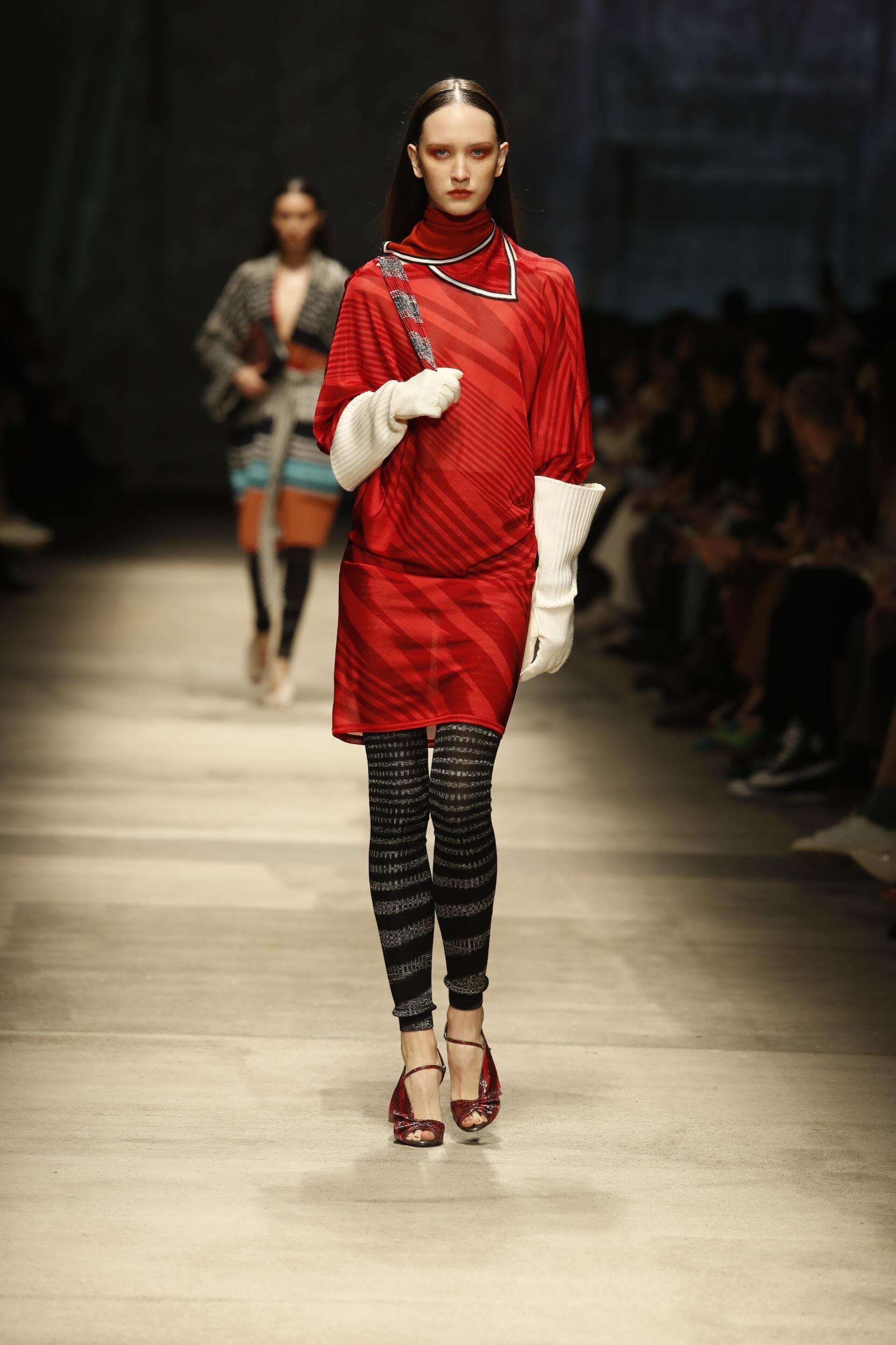 Catwalk Missoni Woman Fashion Show Winter 2020