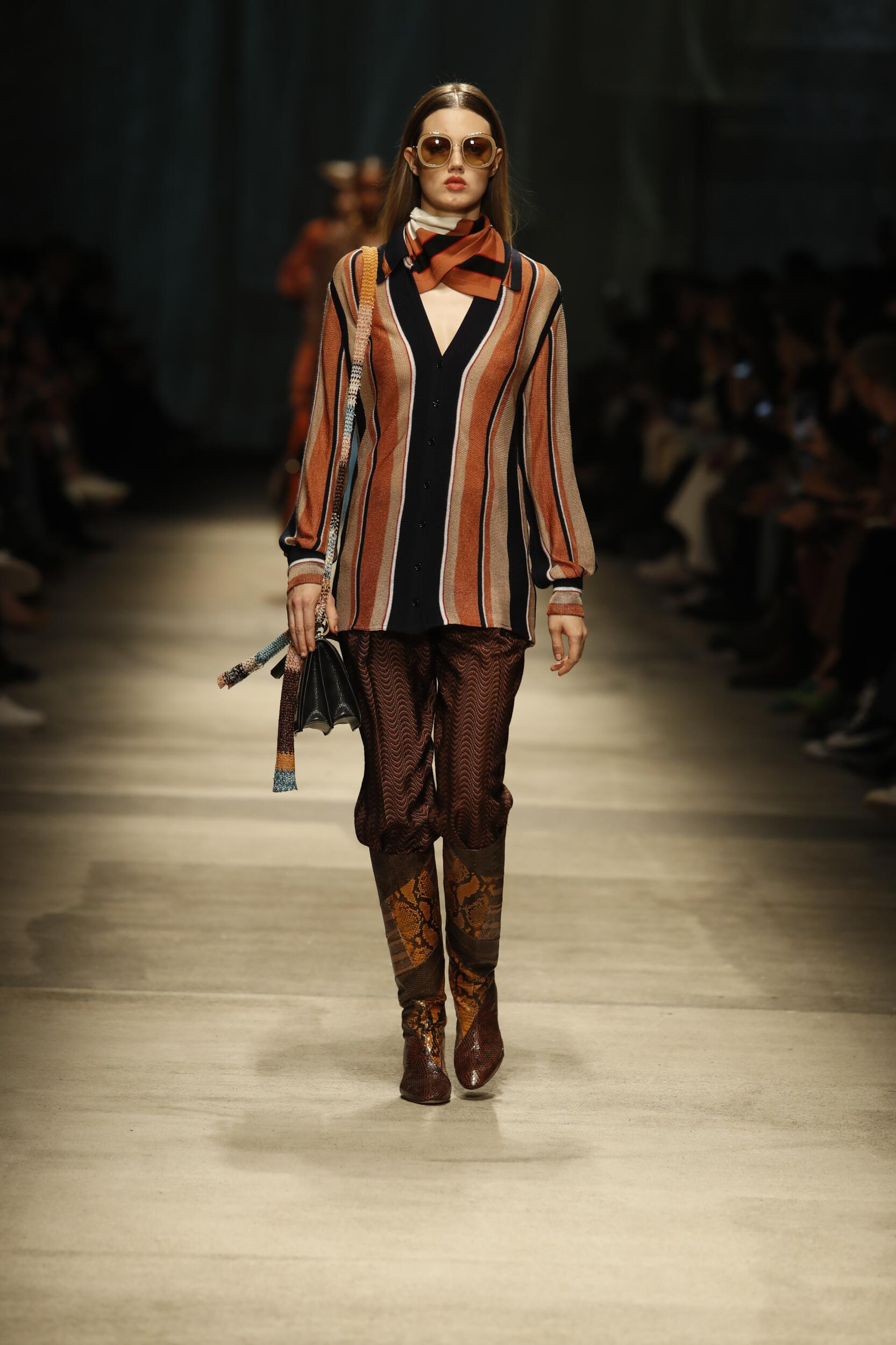 Catwalk Missoni Women Fashion Show Winter 2020