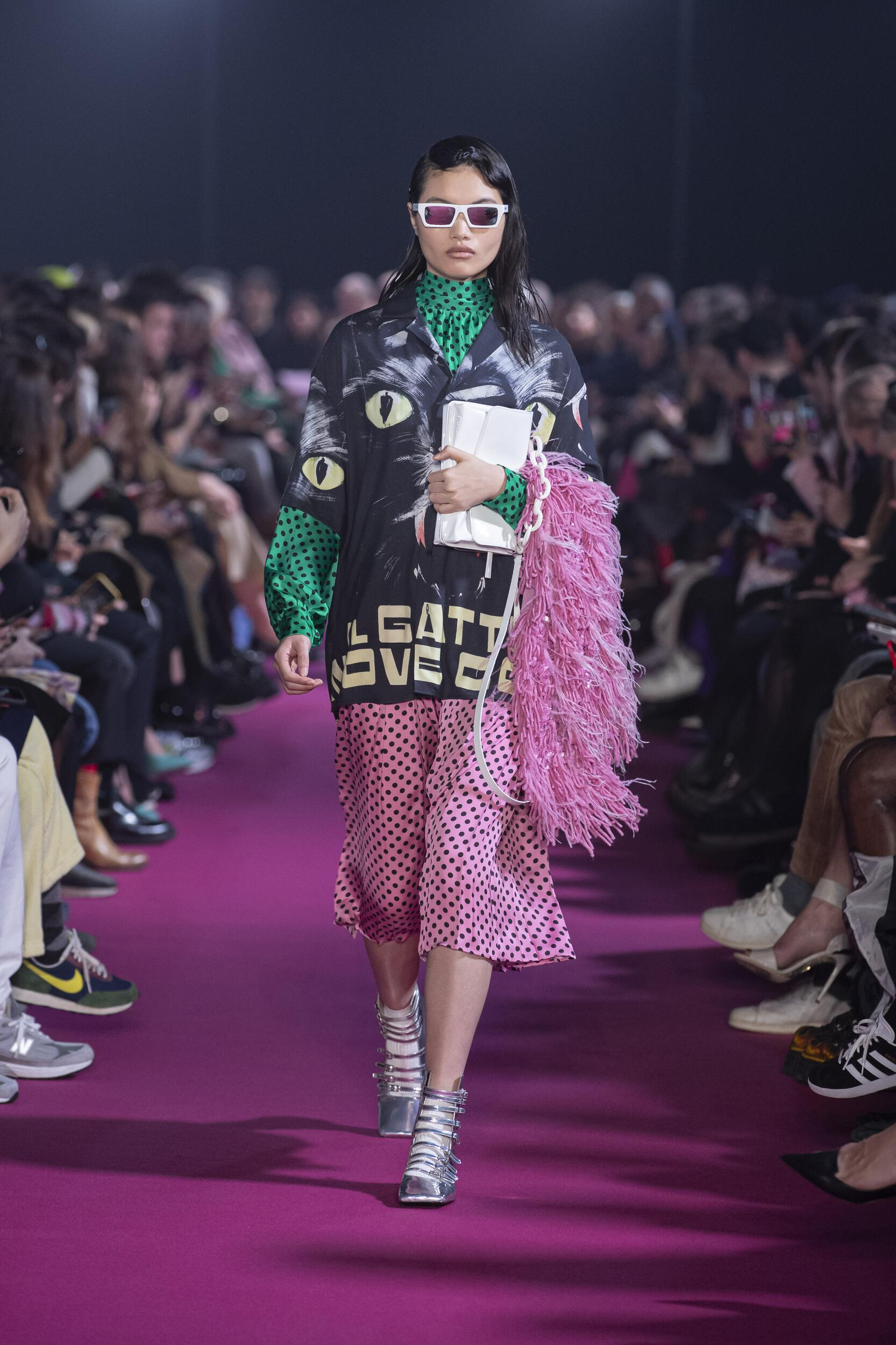 Catwalk MSGM Winter 2020