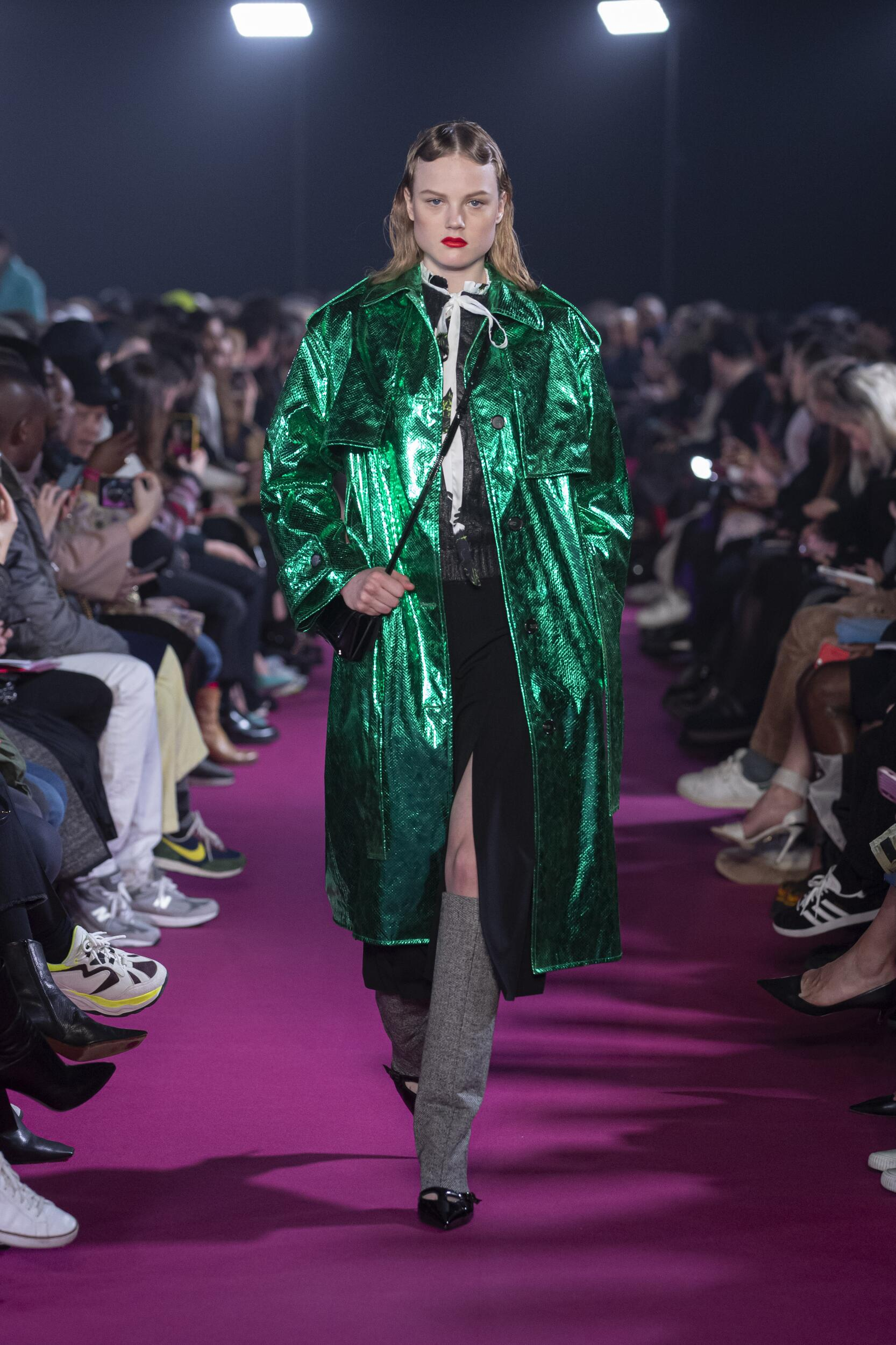 Catwalk MSGM Woman Fashion Show Winter 2020