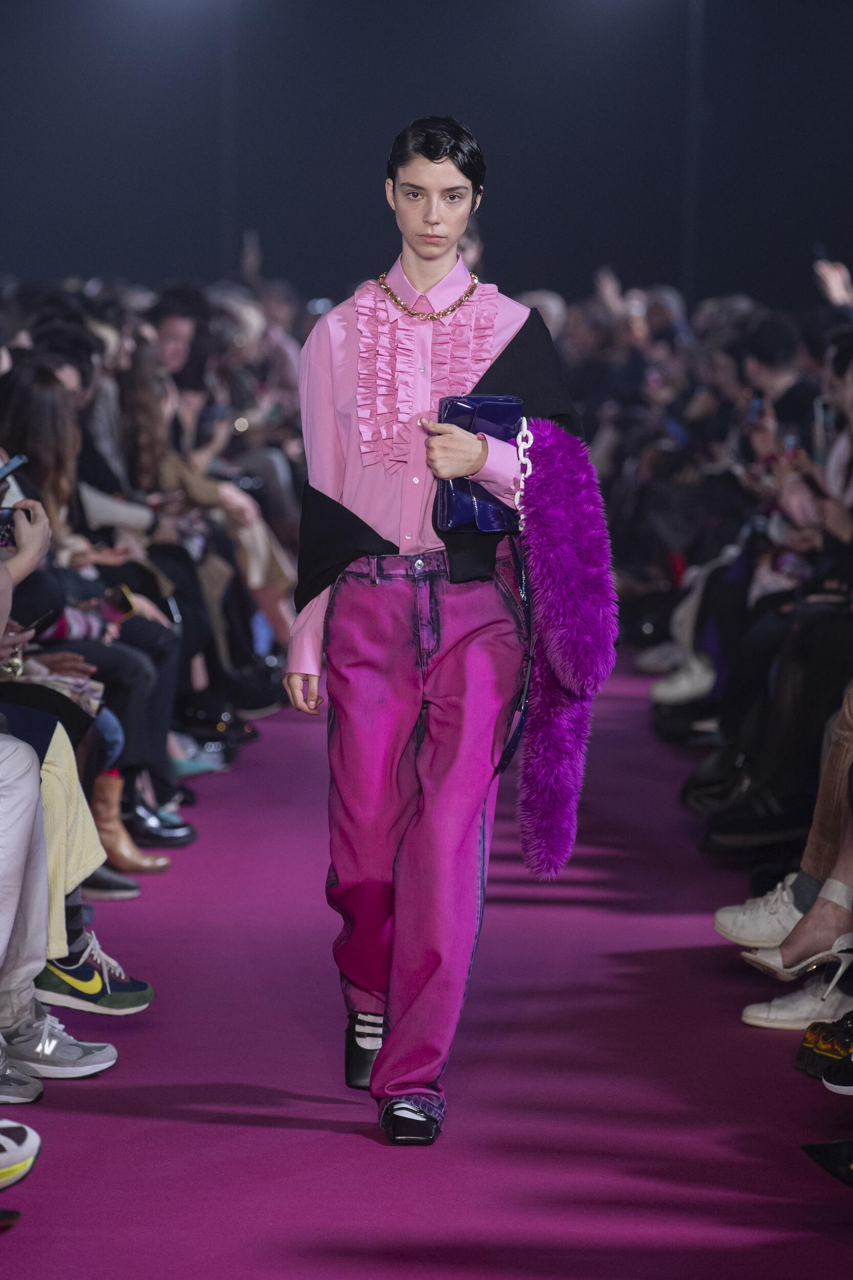 Catwalk MSGM Women Fashion Show Winter 2020