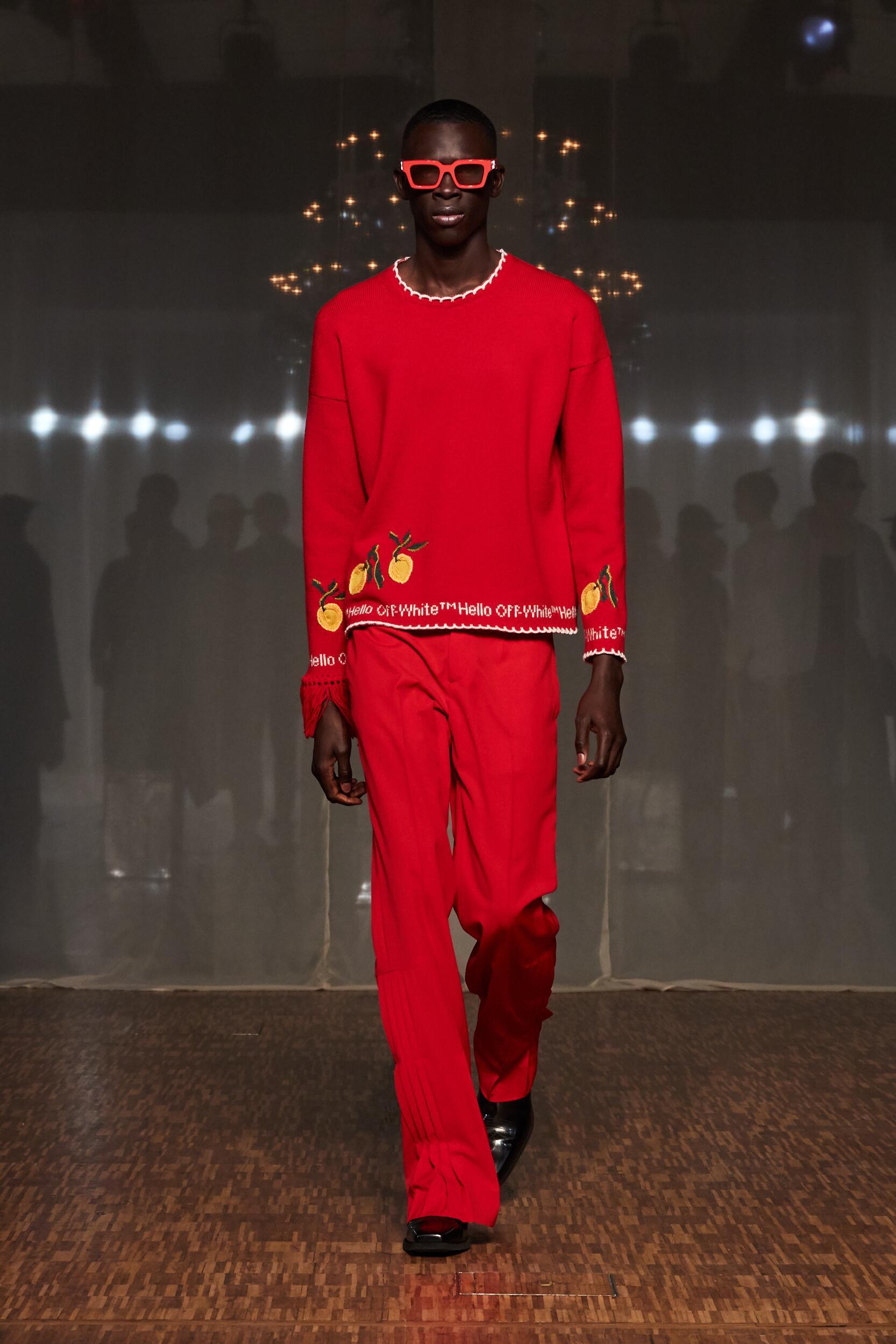 Catwalk Off White c/o Virgil Abloh Man Fashion Show Winter 2020