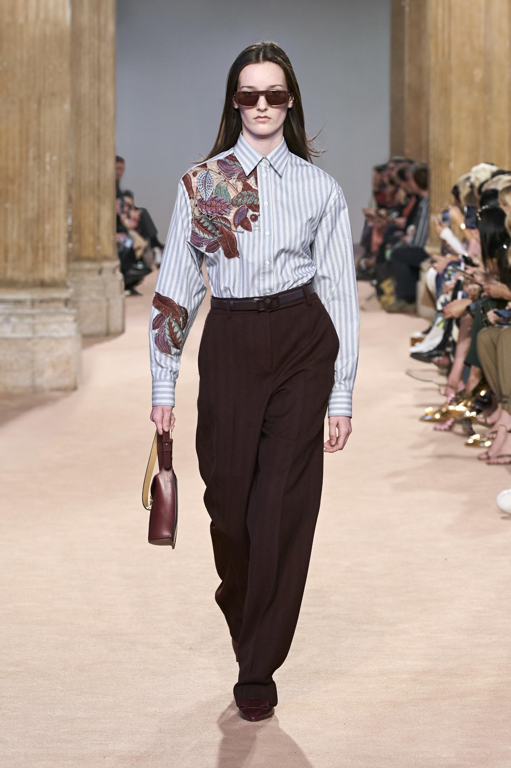 Catwalk Salvatore Ferragamo Woman Fashion Show Winter 2020