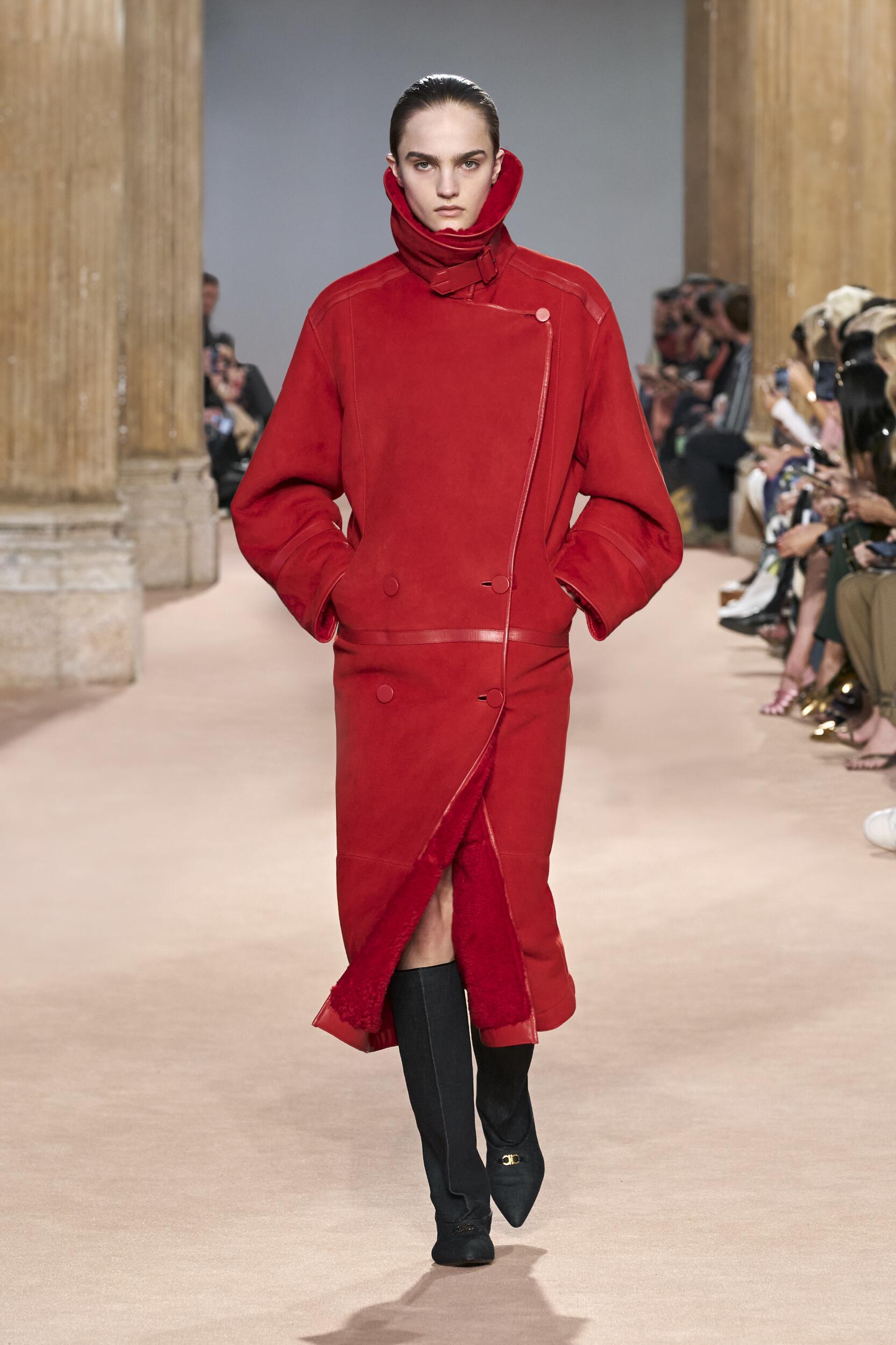Catwalk Salvatore Ferragamo Women Fashion Show Winter 2020