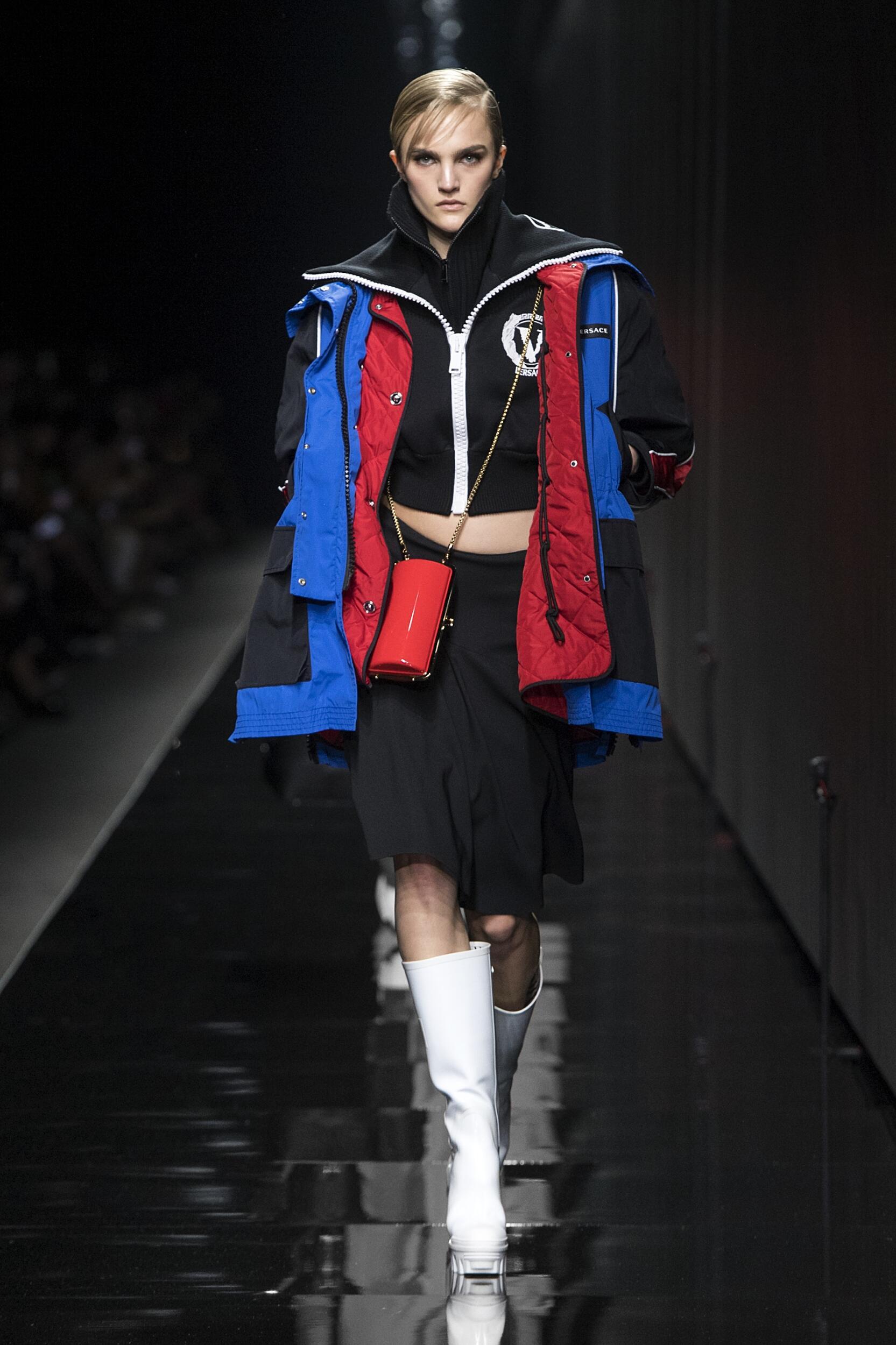 Catwalk Versace Winter 2020
