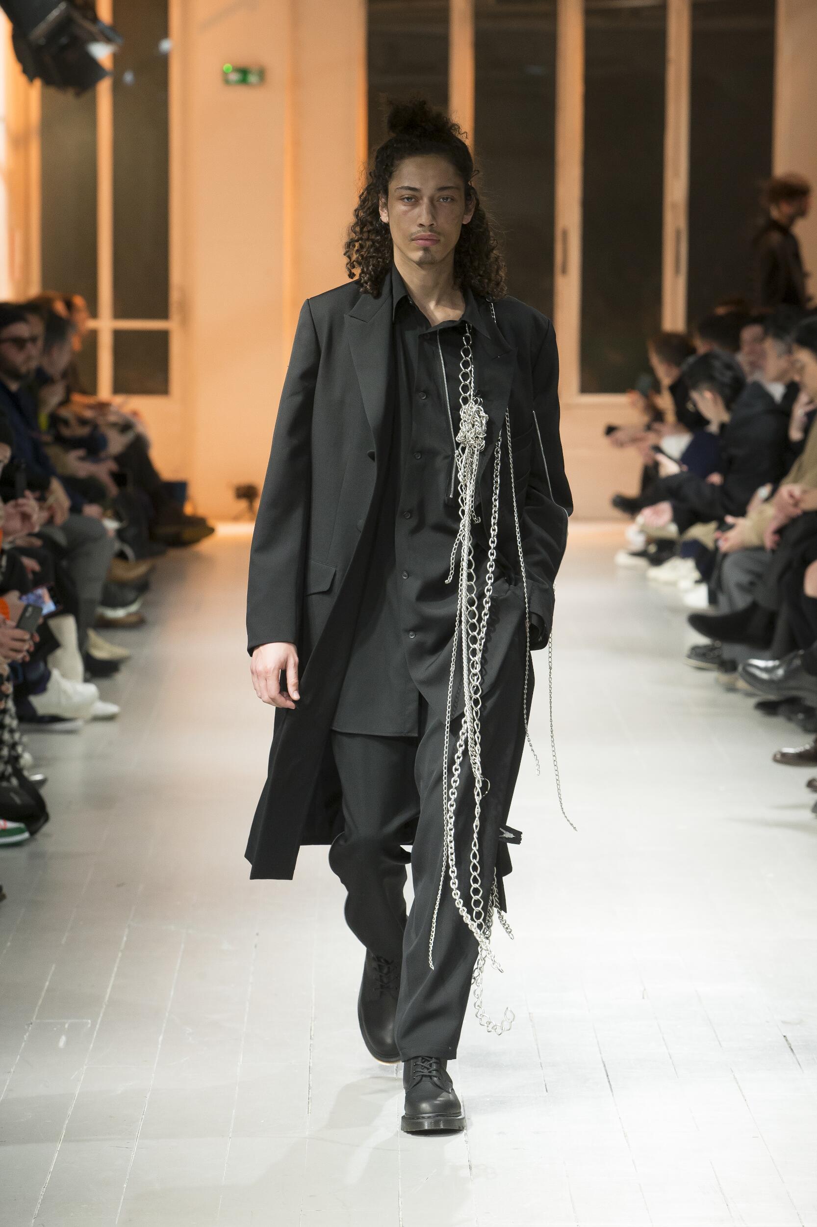 Catwalk Yohji Yamamoto Winter 2020