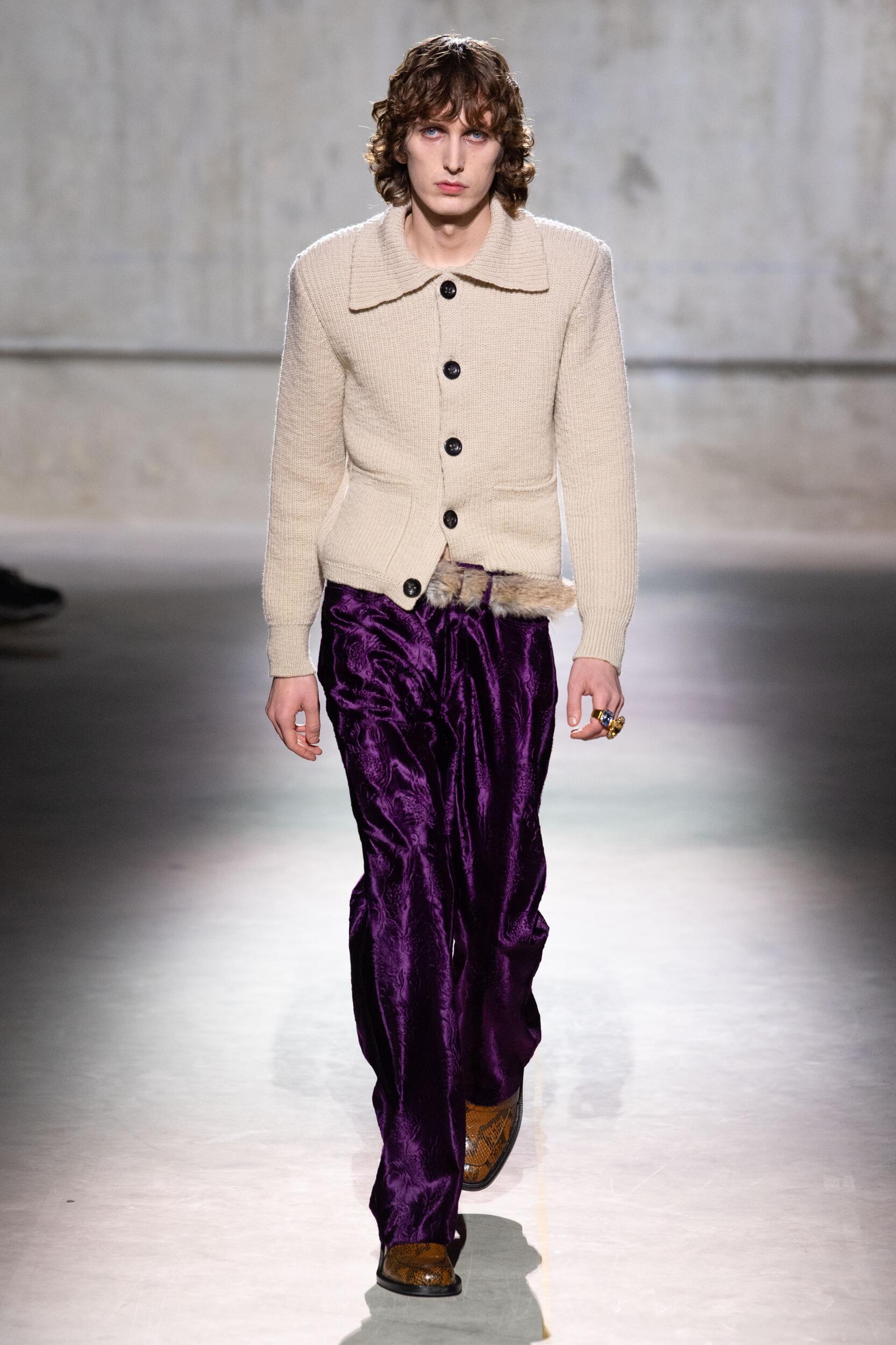 Dries Van Noten FW 2020 Menswear
