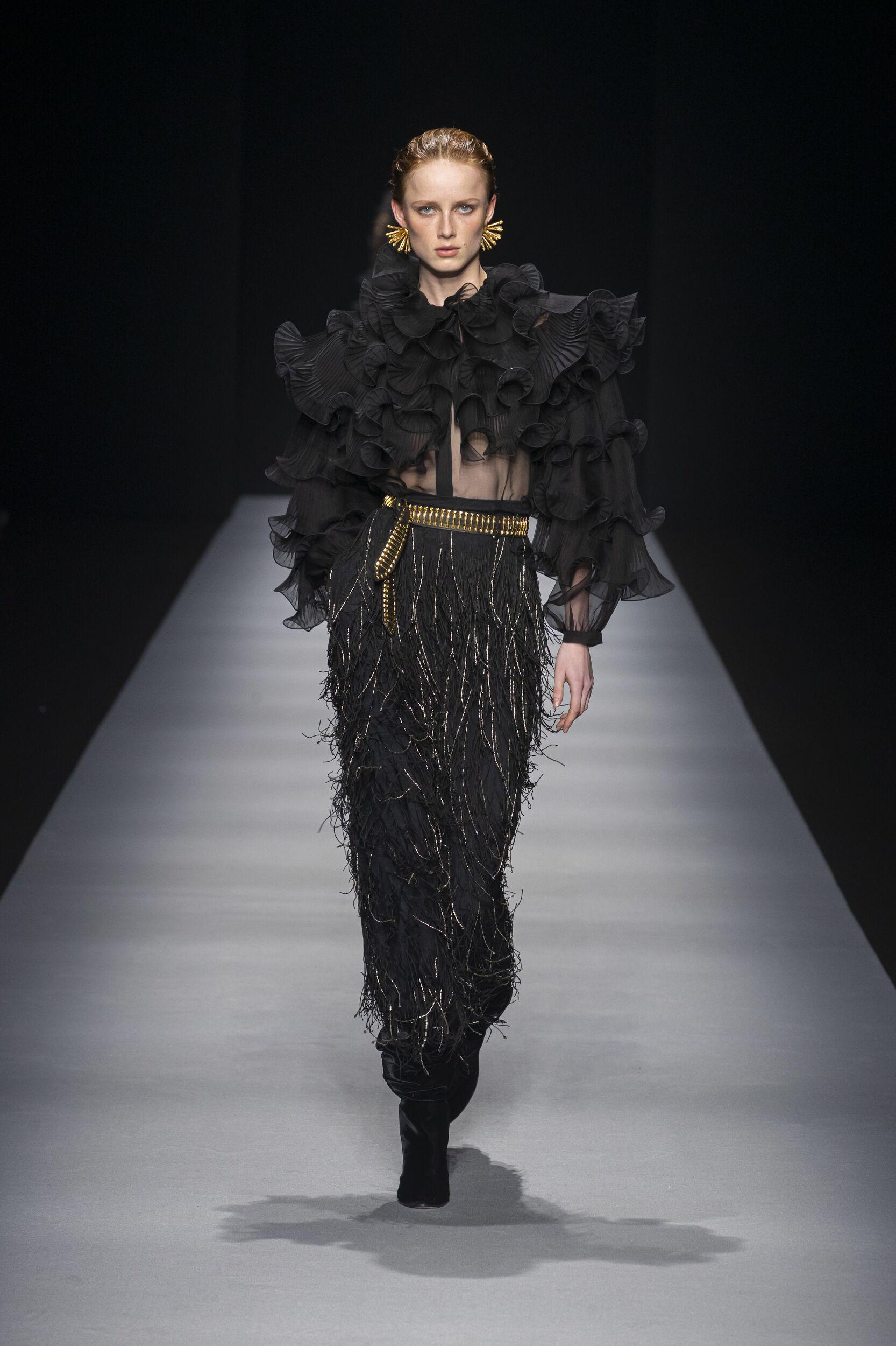 FW 2020-21 Alberta Ferretti Fashion Show Milan Fashion Week