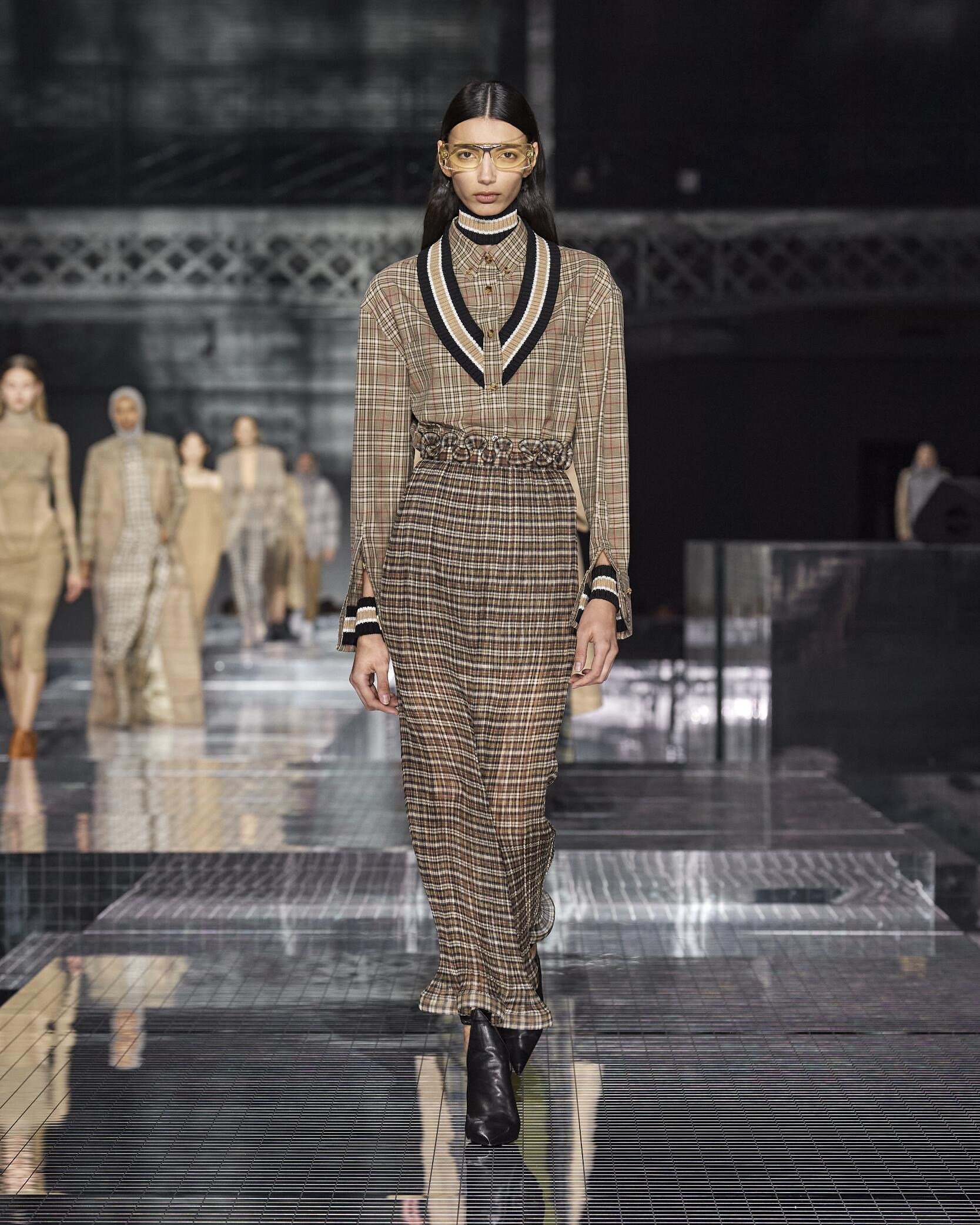FW 2020-21 Burberry Fashion Show London Fashion Week