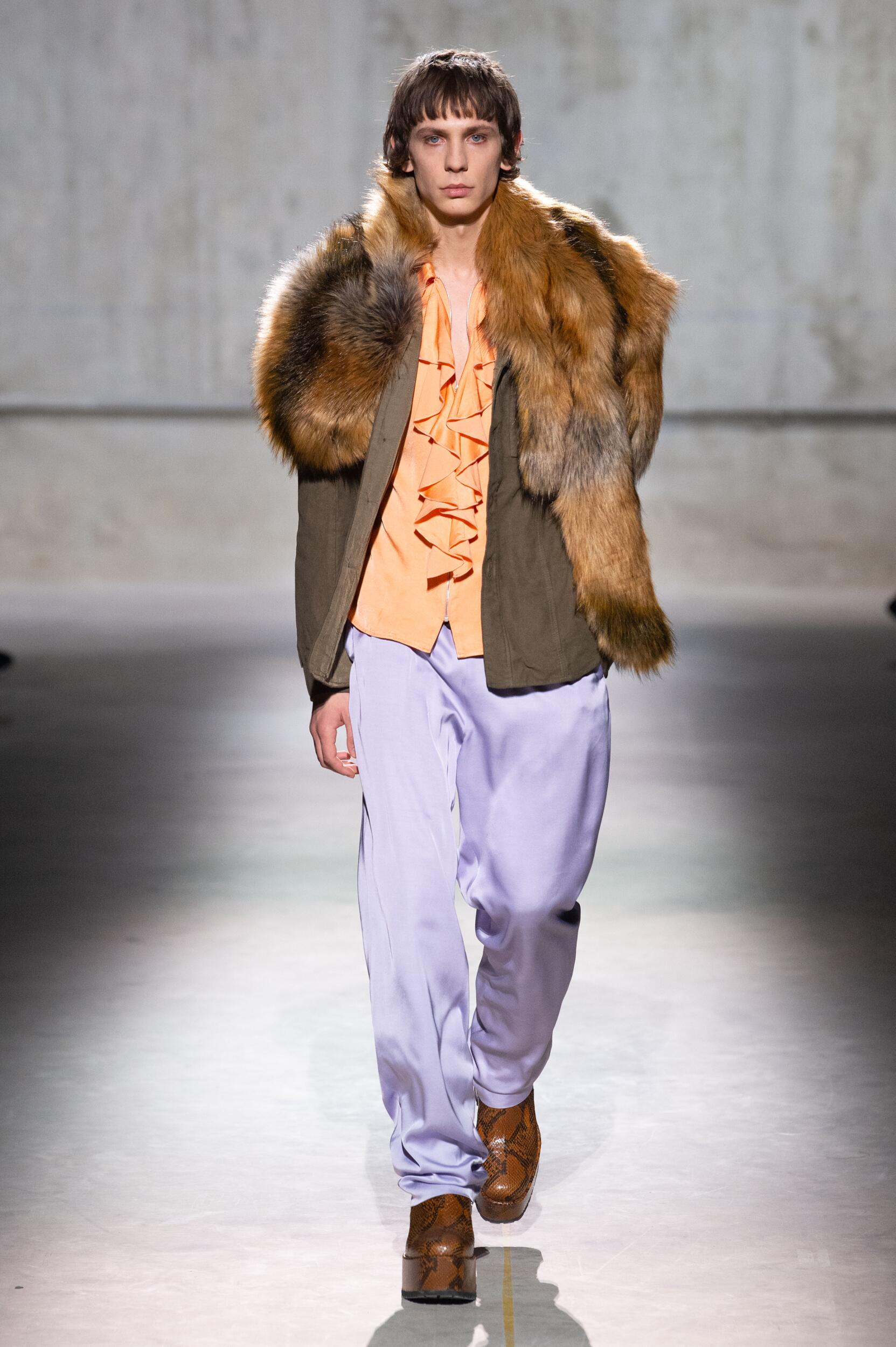 FW 2020-21 Fashion Show Dries Van Noten