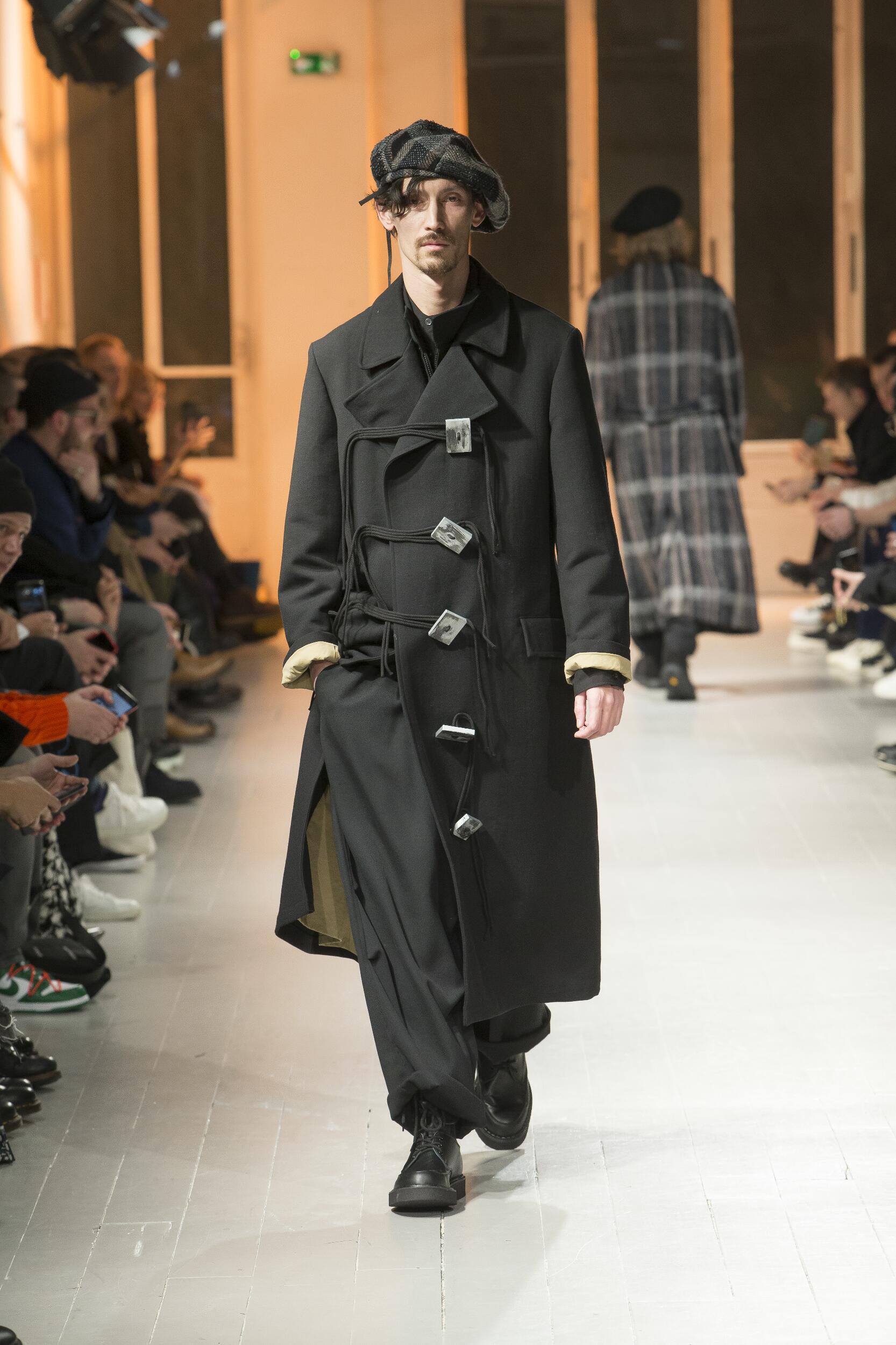FW 2020-21 Fashion Show Yohji Yamamoto