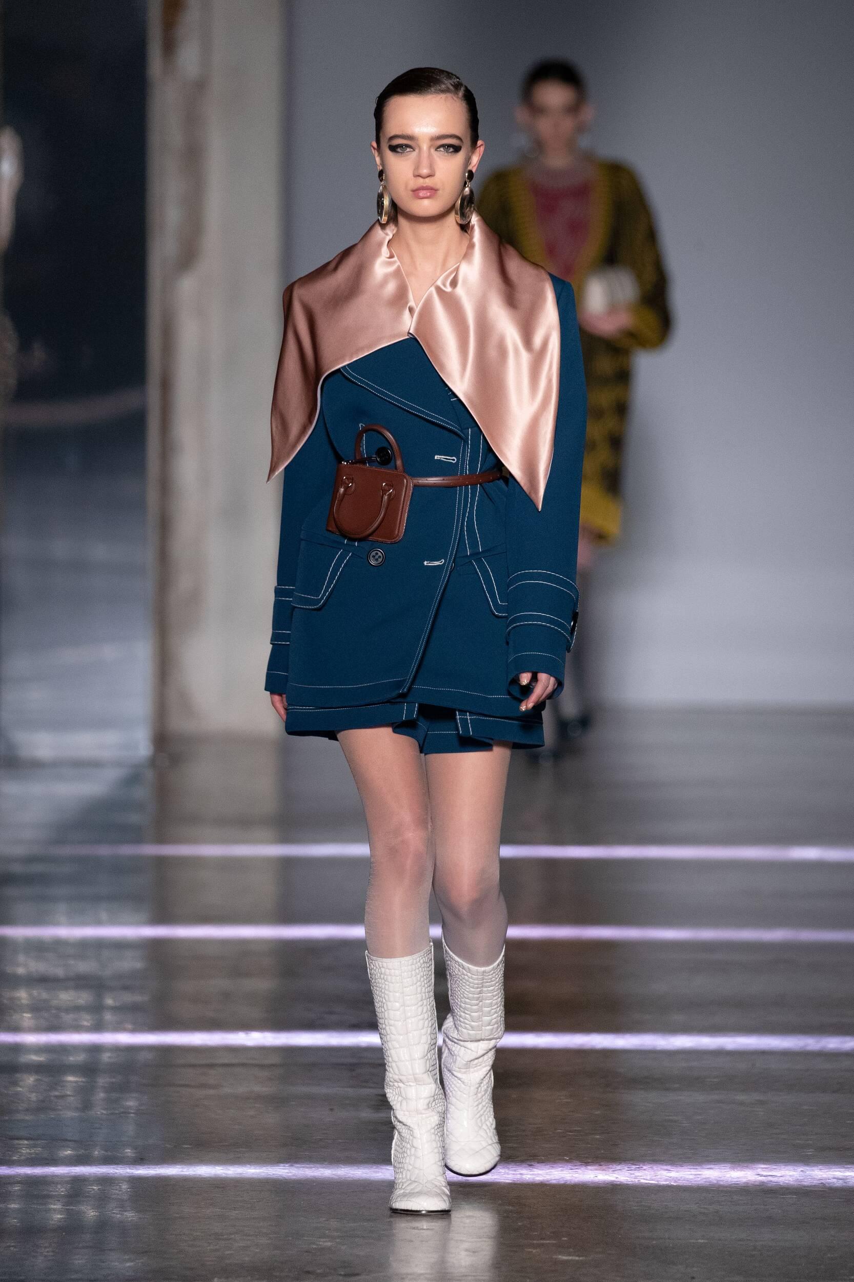 FW 2020-21 Marco De Vincenzo Fashion Show