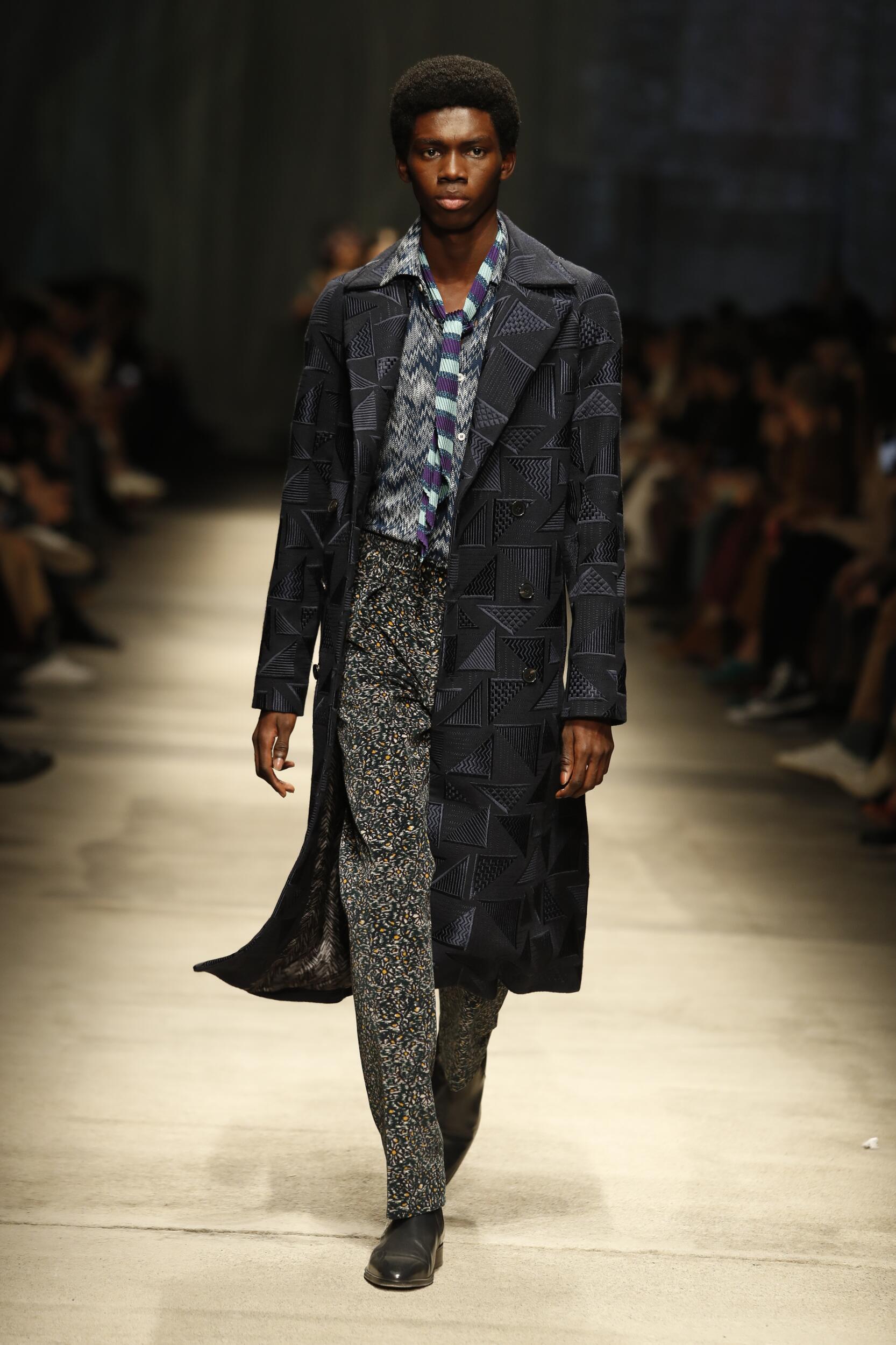 FW 2020-21 Missoni Fashion Show Milan Fashion Week