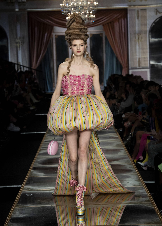 FW 2020-21 Moschino Fashion Show Milan Fashion Week