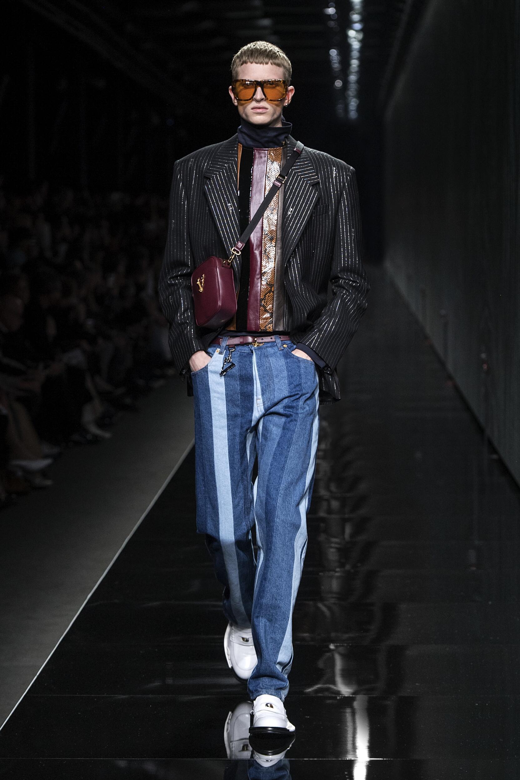 FW 2020-21 Versace Fashion Show Milan Fashion Week