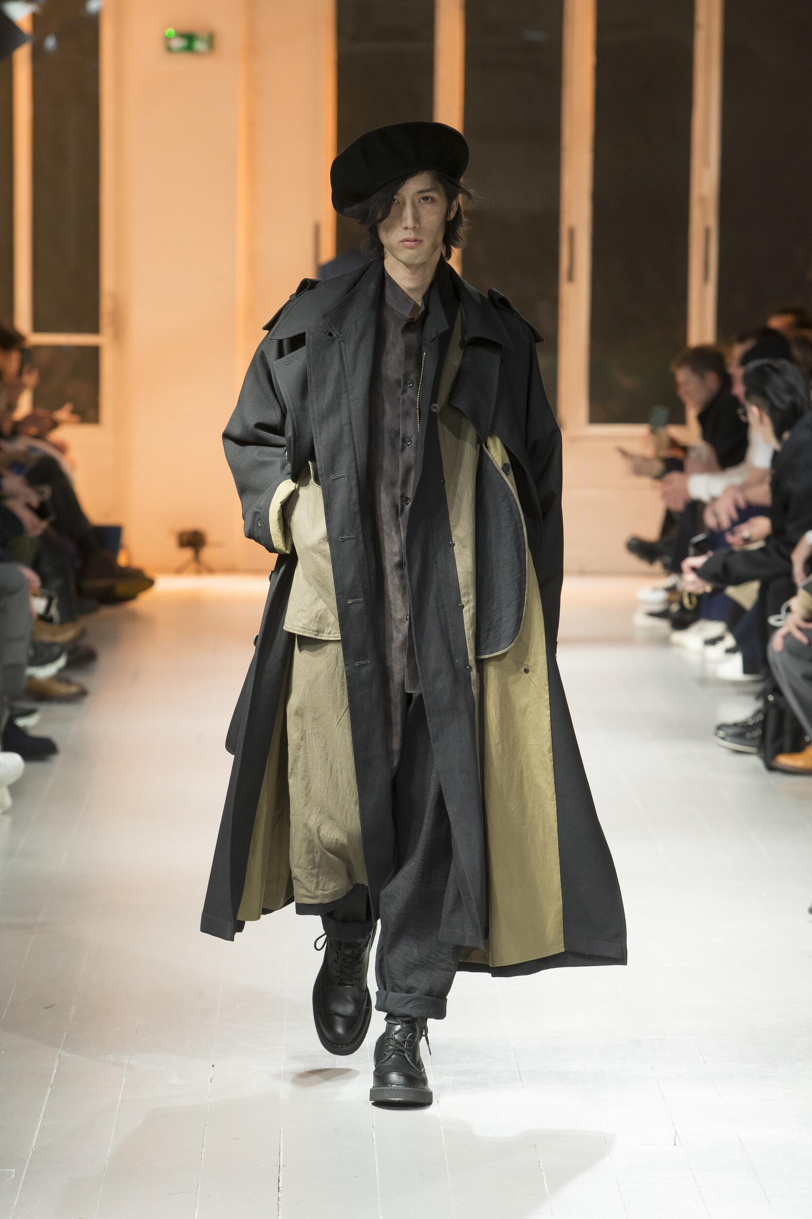 FW 2020-21 Yohji Yamamoto Fashion Show