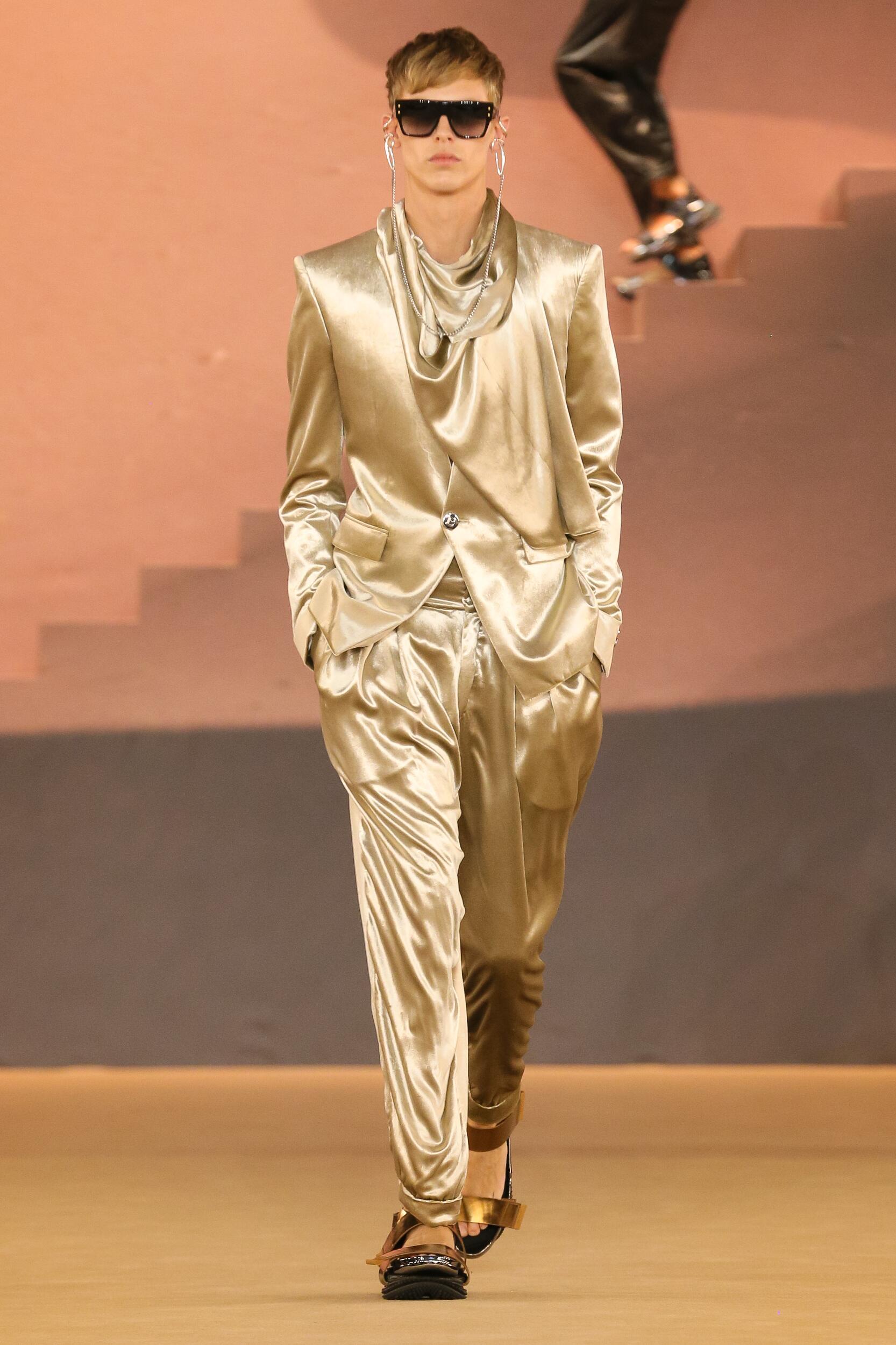 FW 2020 Balmain Show Paris Fashion Week Menswear