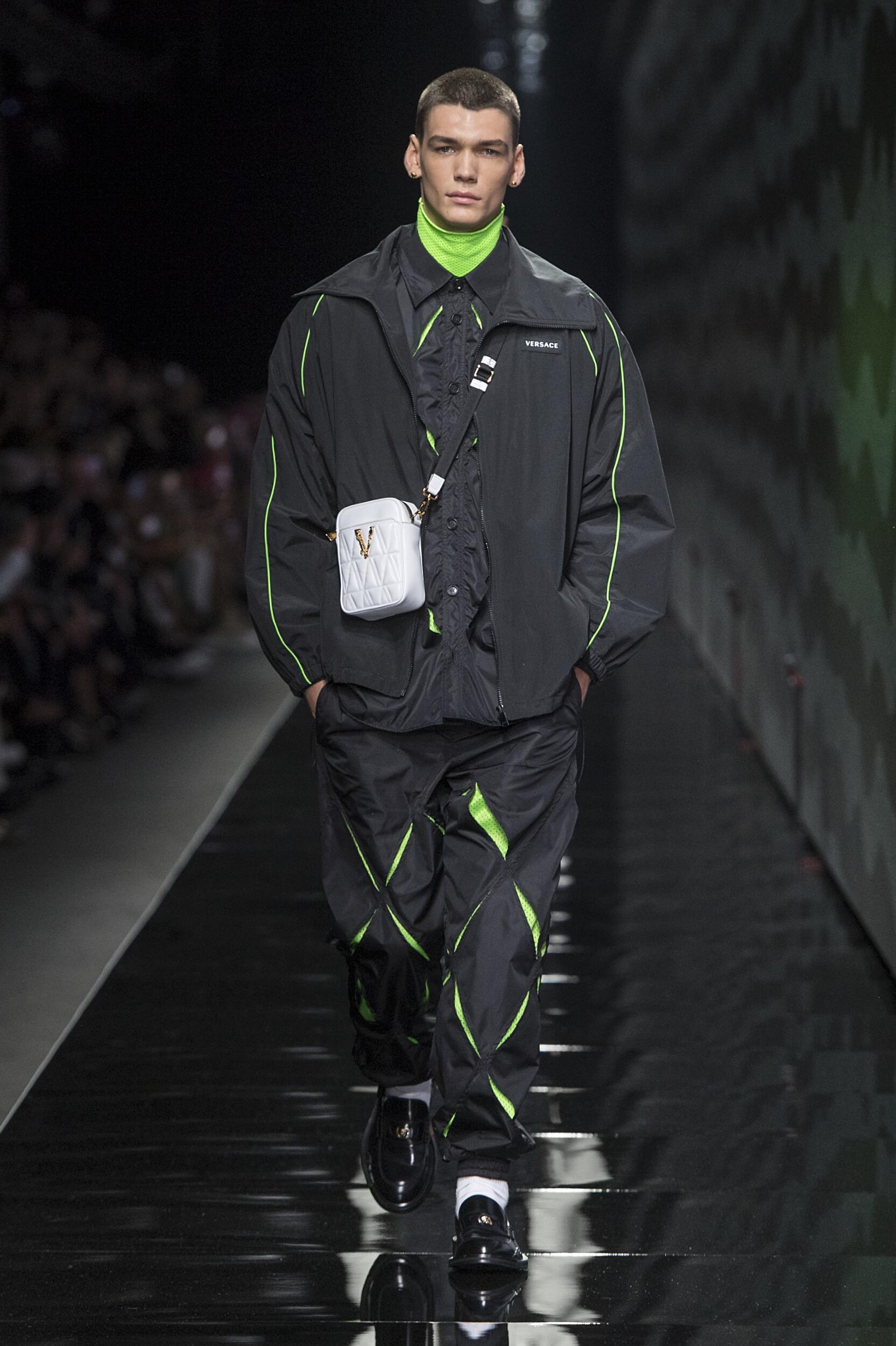 FW 2020 Versace Show Milan Fashion Week