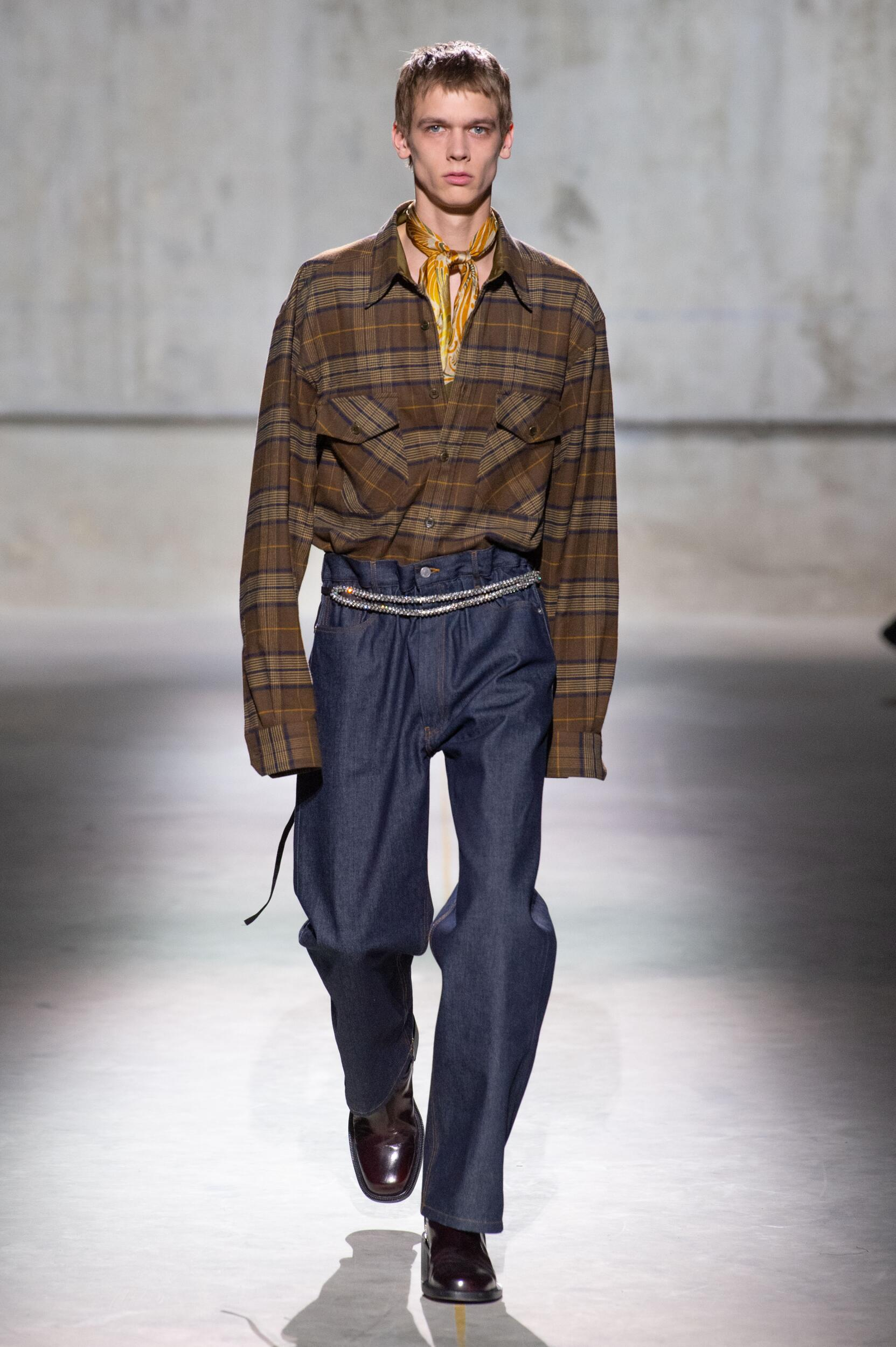 Fall 2020 Menswear Dries Van Noten