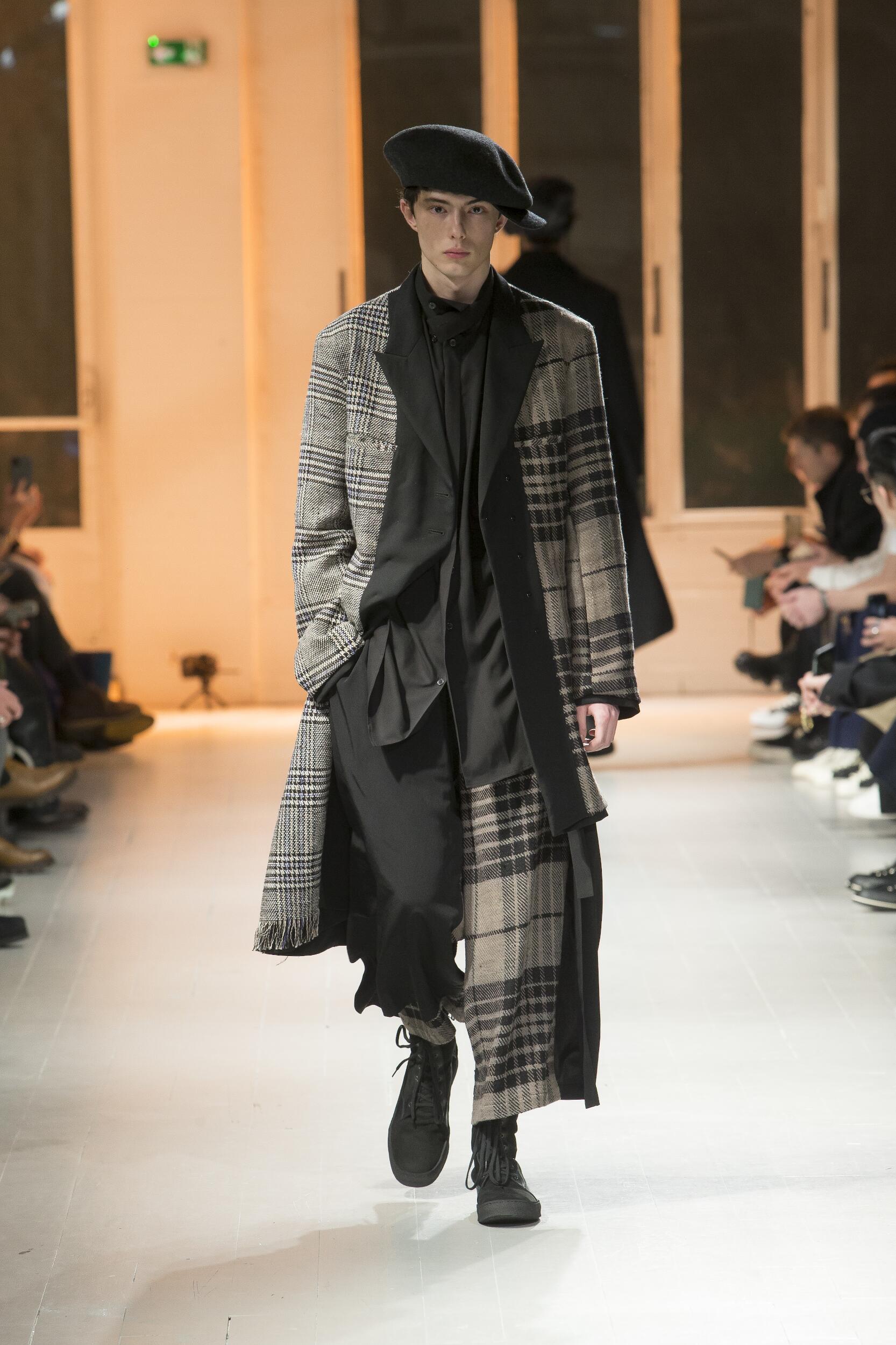 Fall 2020 Menswear Yohji Yamamoto