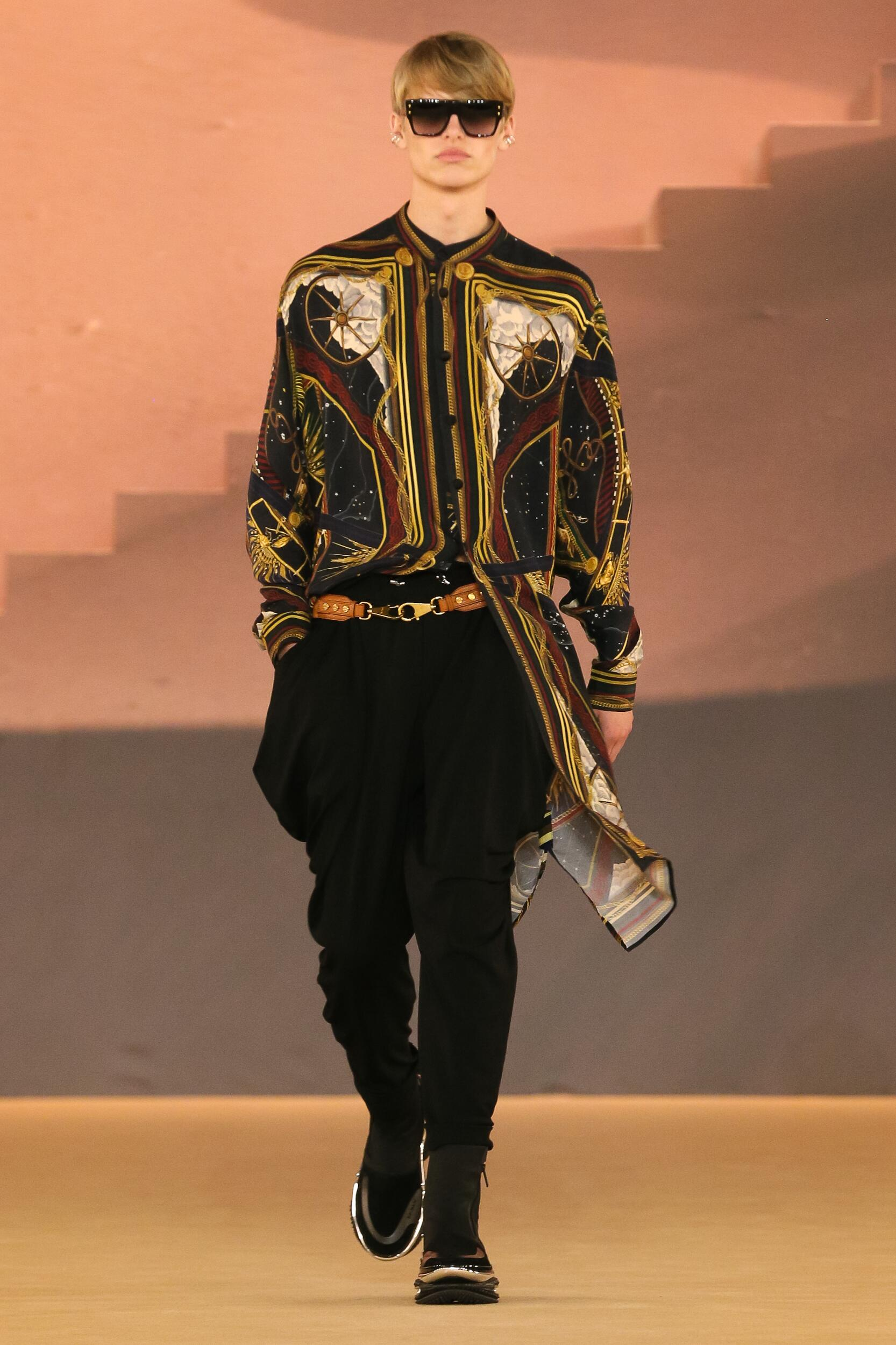 Fashion 2020 Catwalk Balmain Winter Mens Collection