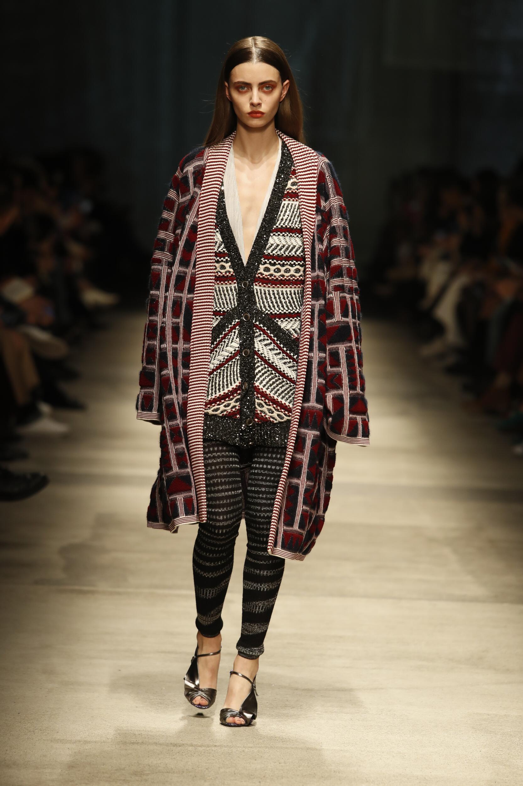 Fashion 2020 Catwalk Missoni Winter Womens Collection