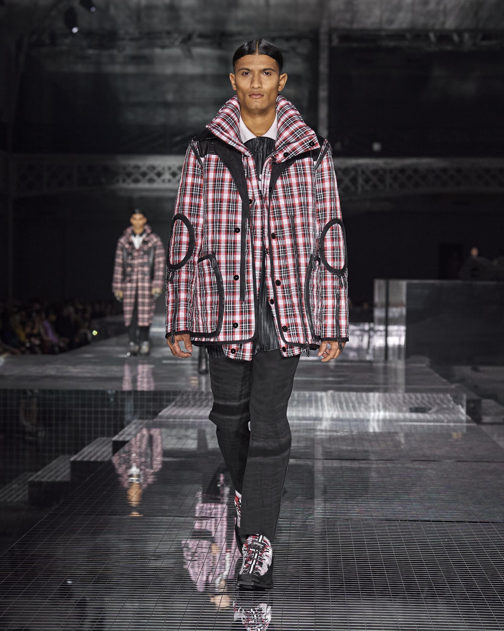 Fashion 2020 Runway Burberry FW Menswear