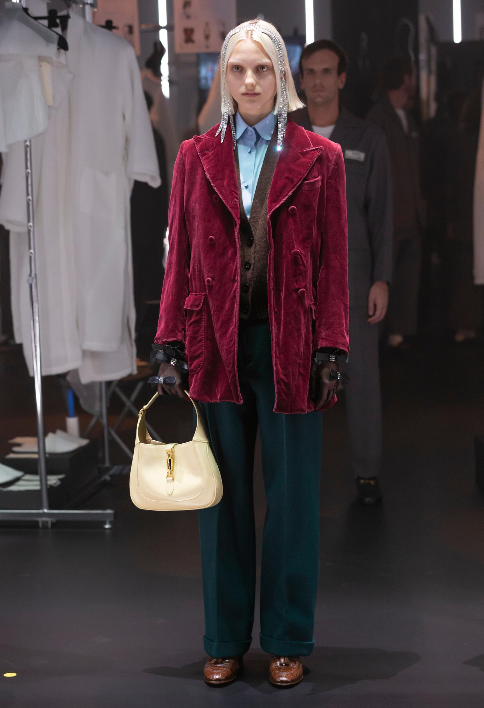 Fashion 2020 Runway Gucci Winter