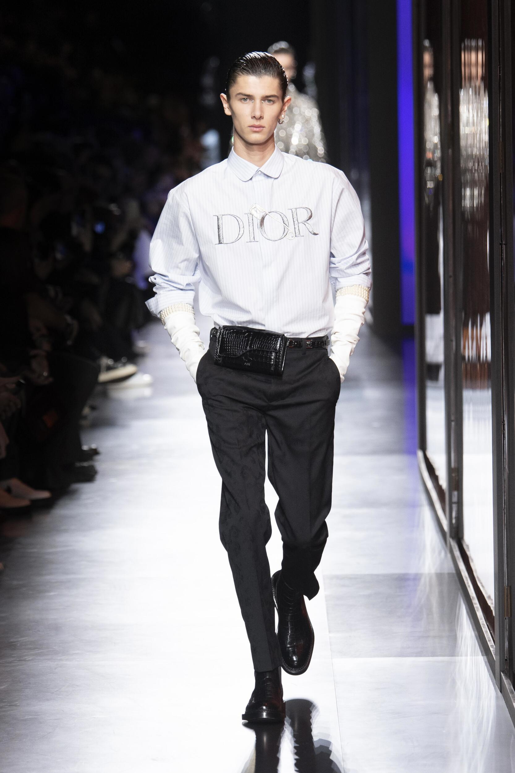 Fashion 2020 Runway Man Dior Winter