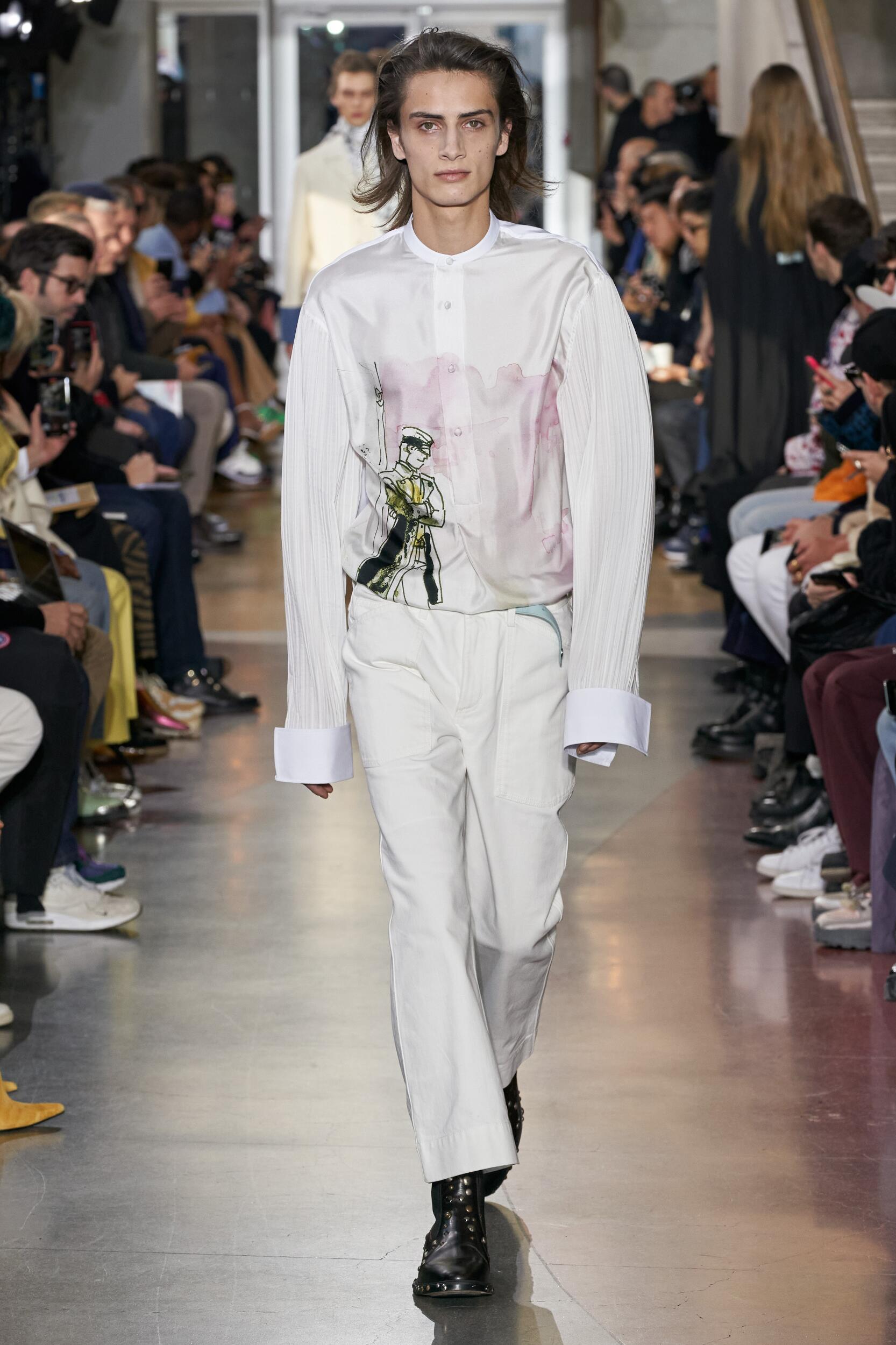 Fashion 2020 Runway Man Lanvin Winter
