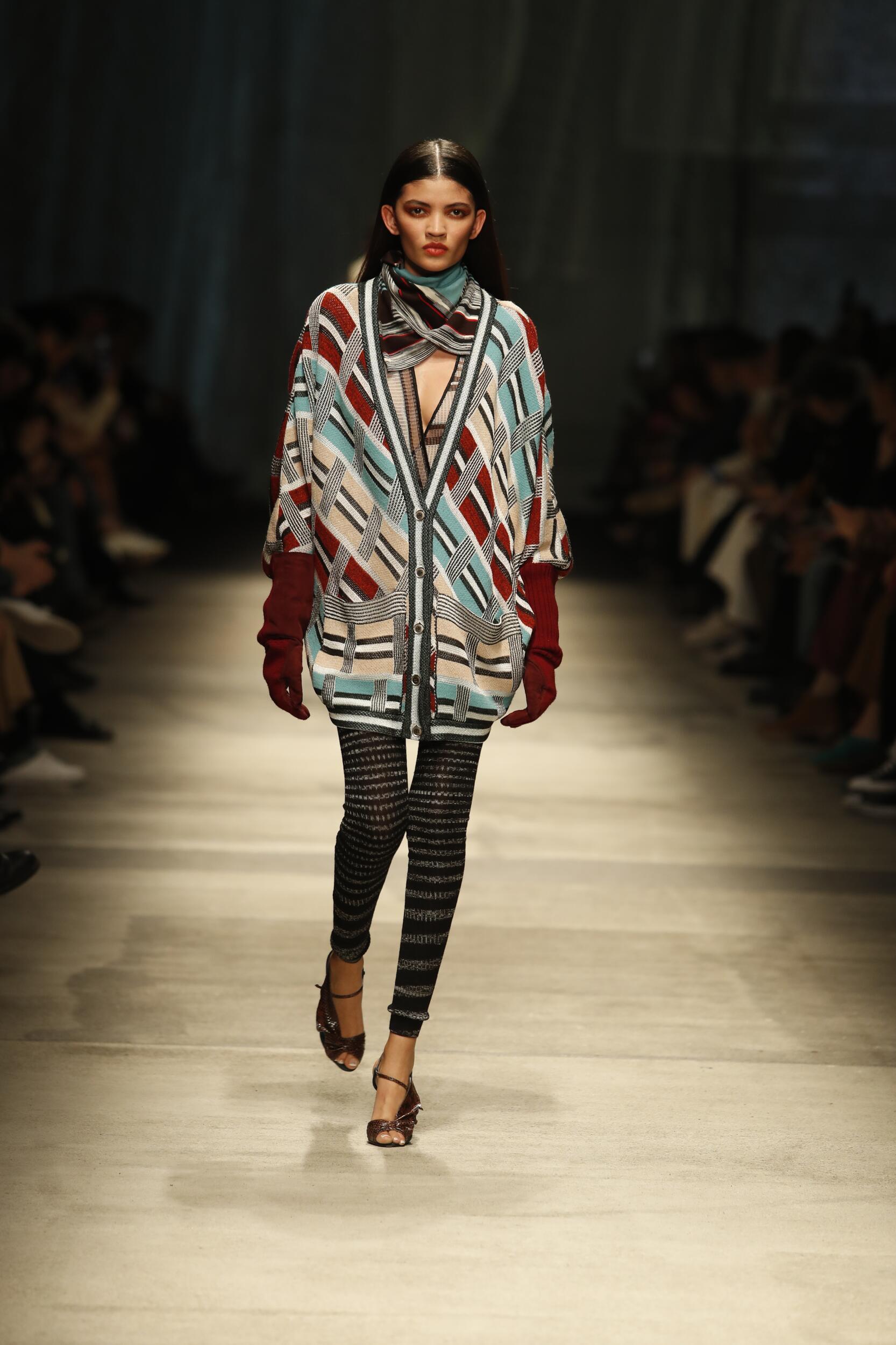 Fashion 2020 Runway Missoni Winter