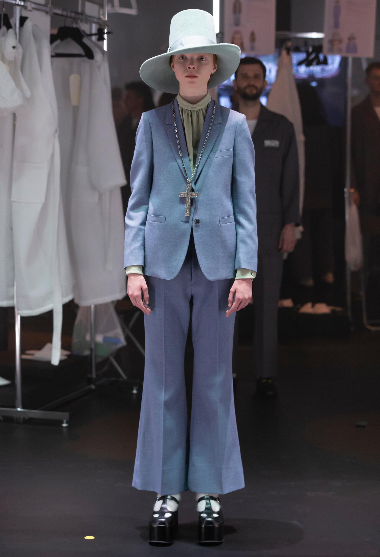 Fashion 2020 Runway Woman Gucci Winter
