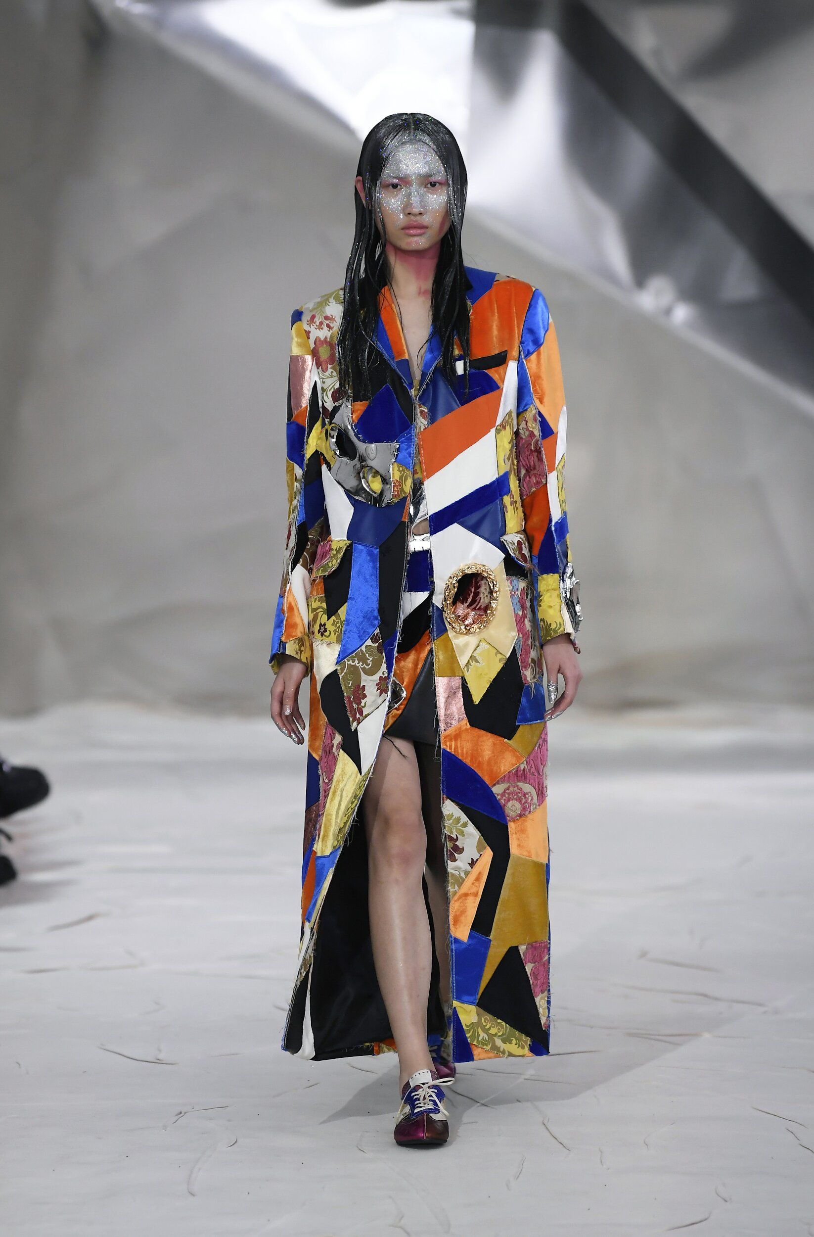 Fashion 2020 Runway Woman Marni Winter