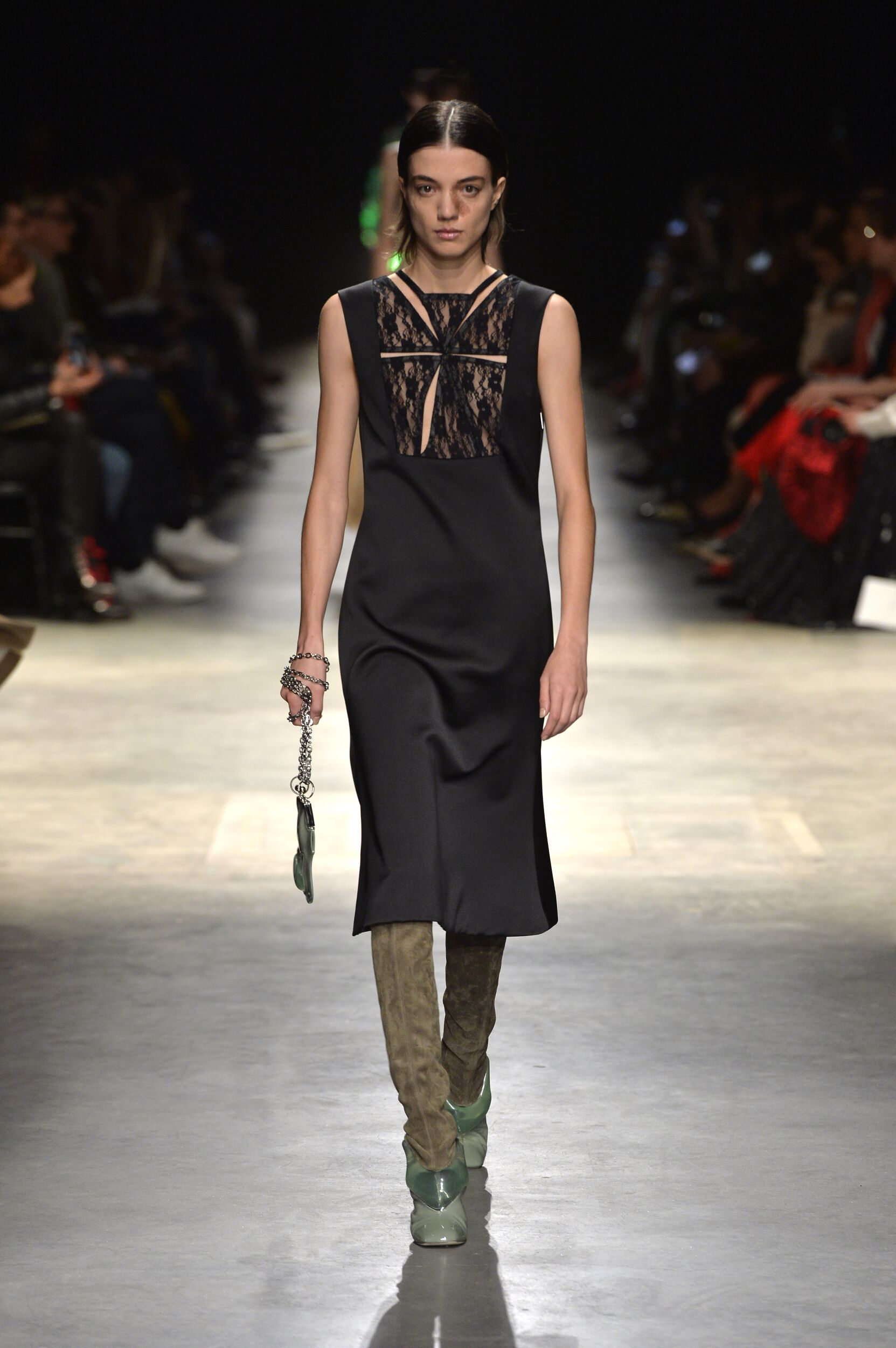 Fashion Model Christopher Kane Catwalk