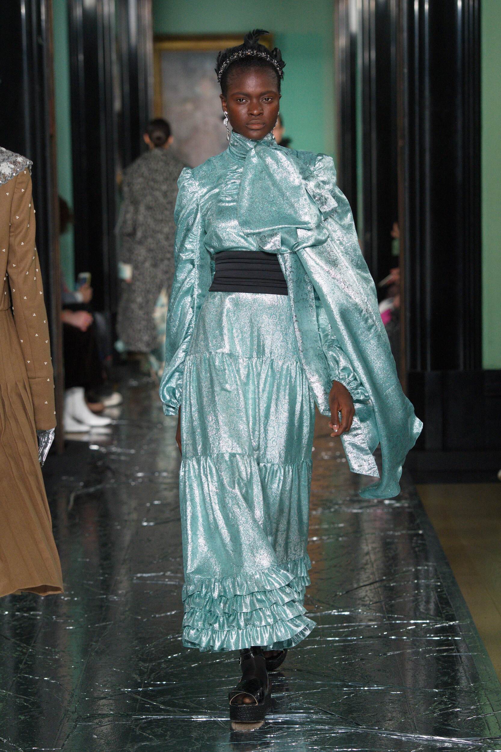 Fashion Model Erdem Catwalk