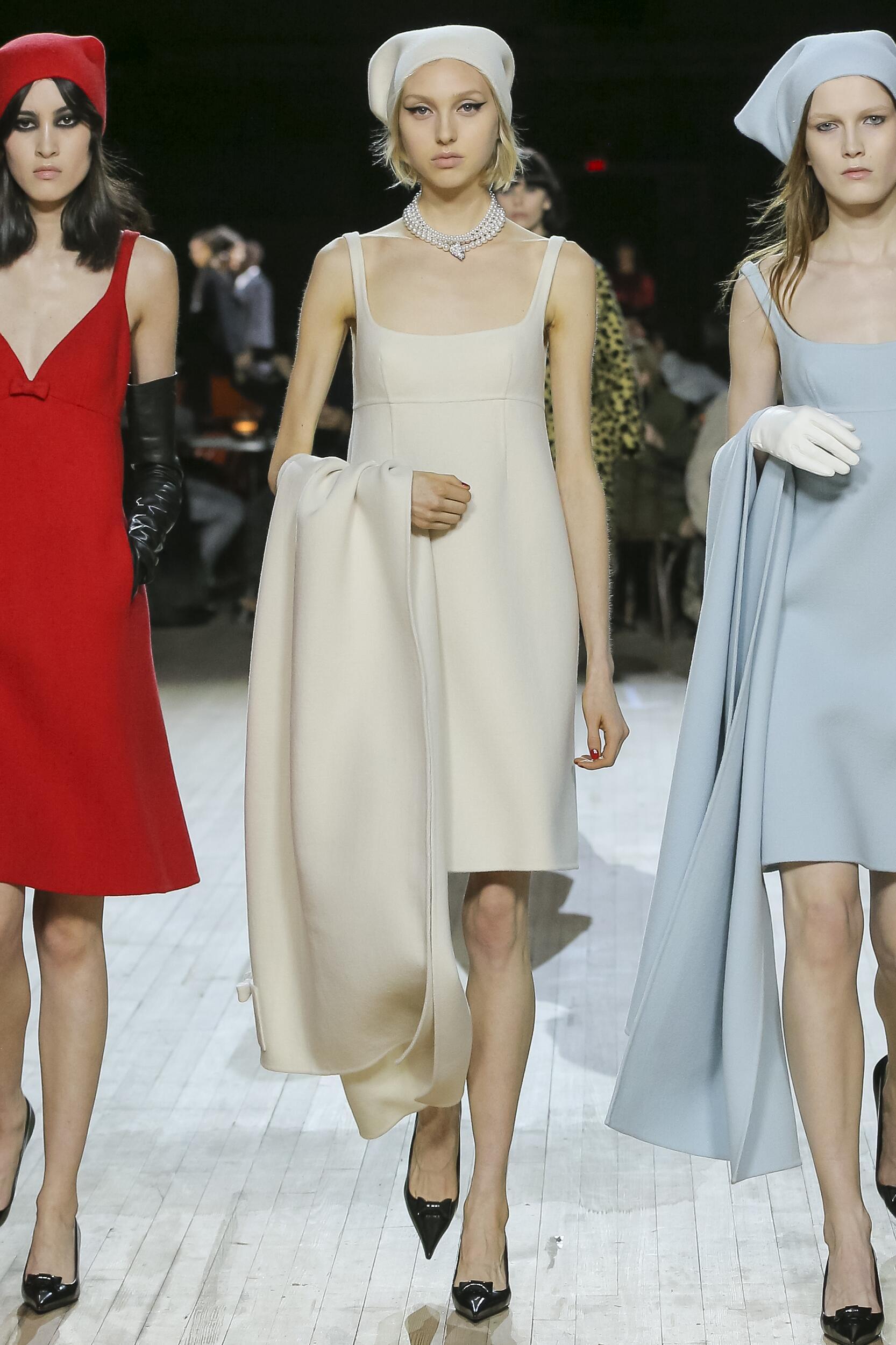 Fashion Model Marc Jacobs Catwalk