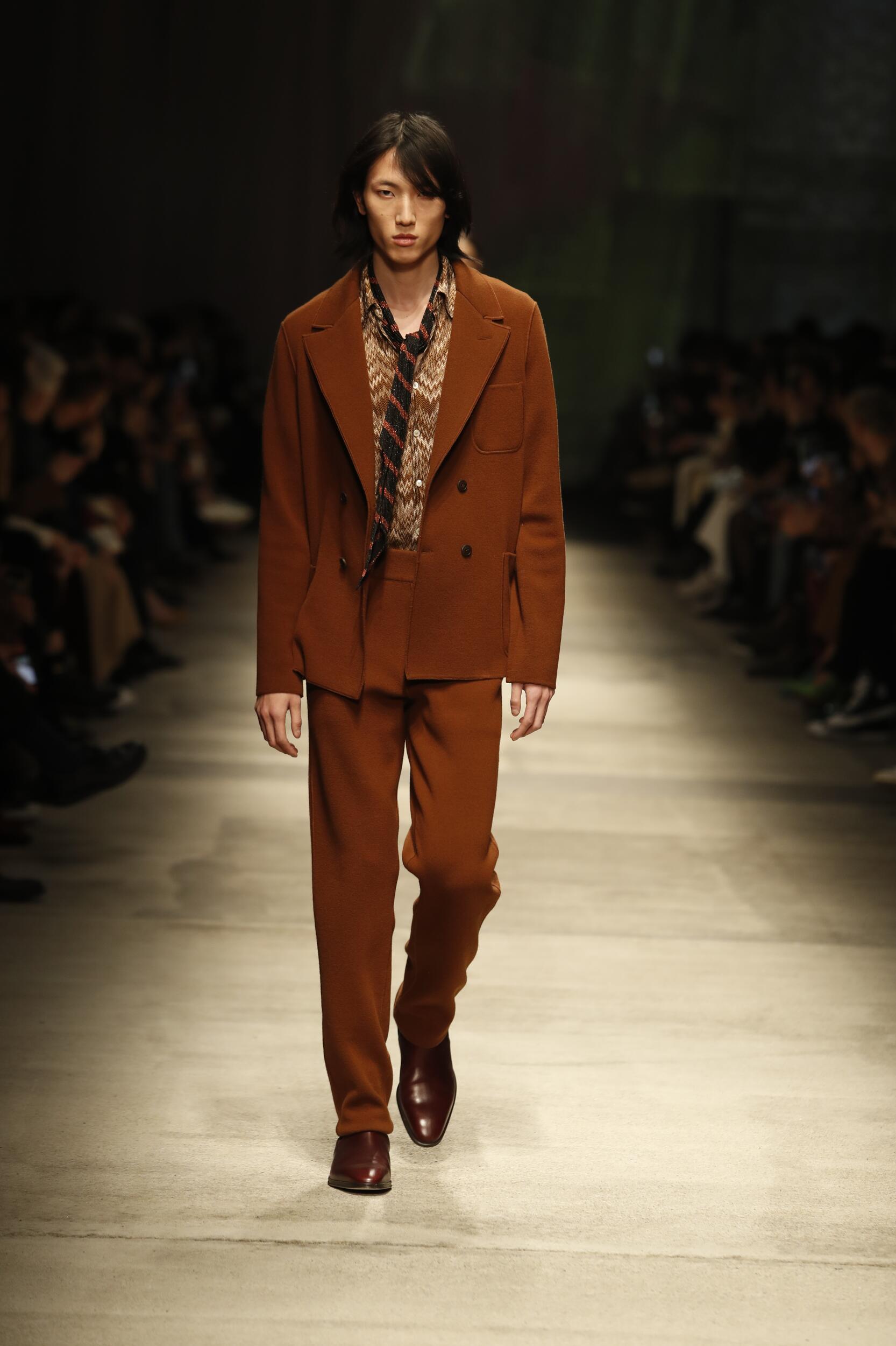 Fashion Show Man Model Missoni Catwalk