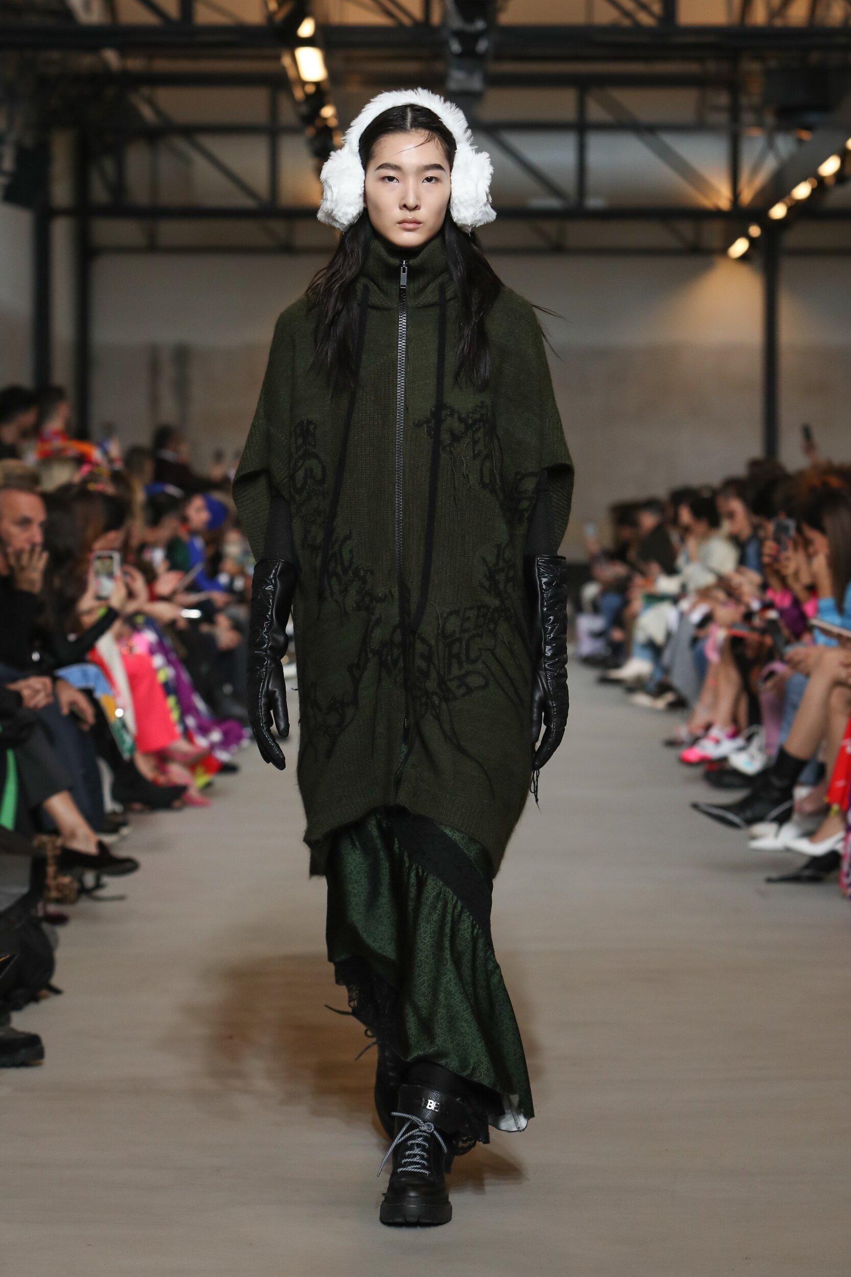 Fashion Show Woman Model Iceberg Catwalk