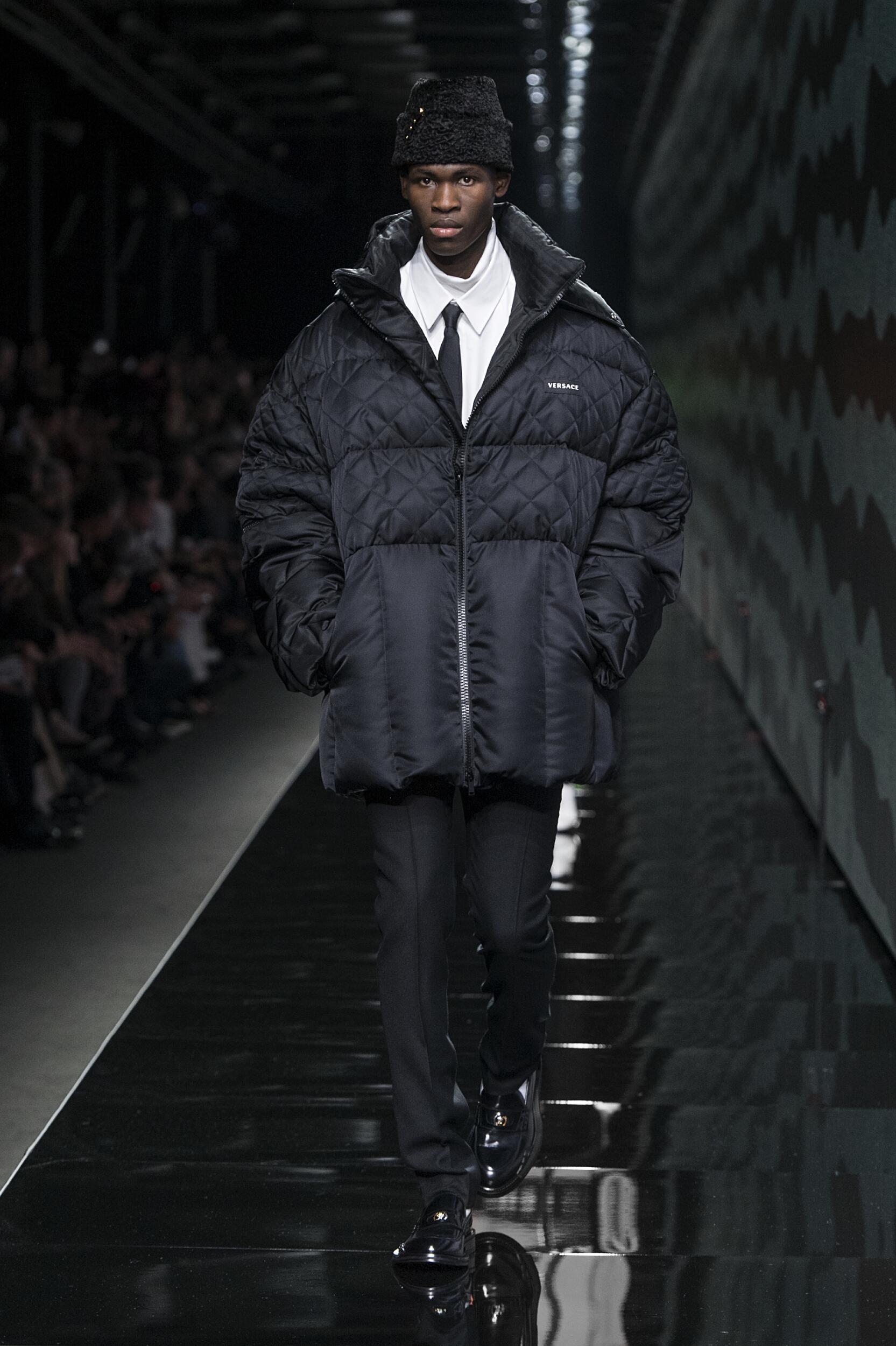 Fashion Week 2020 Catwalk Versace