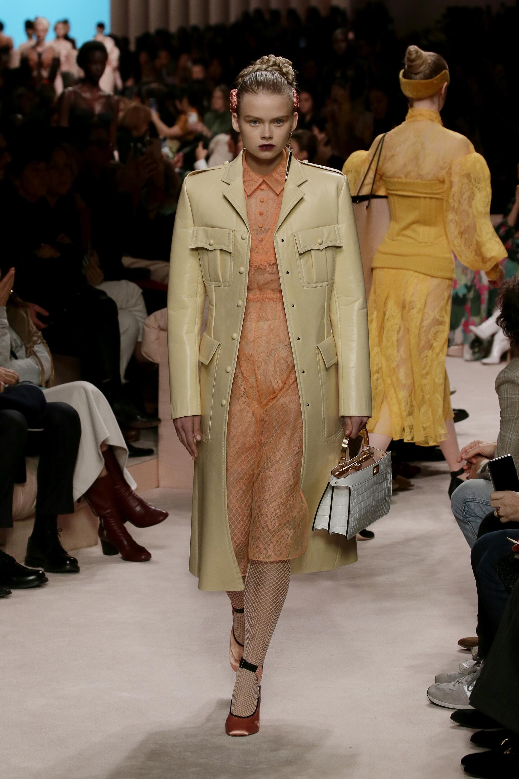 Fendi 2020 Milan Women Trends