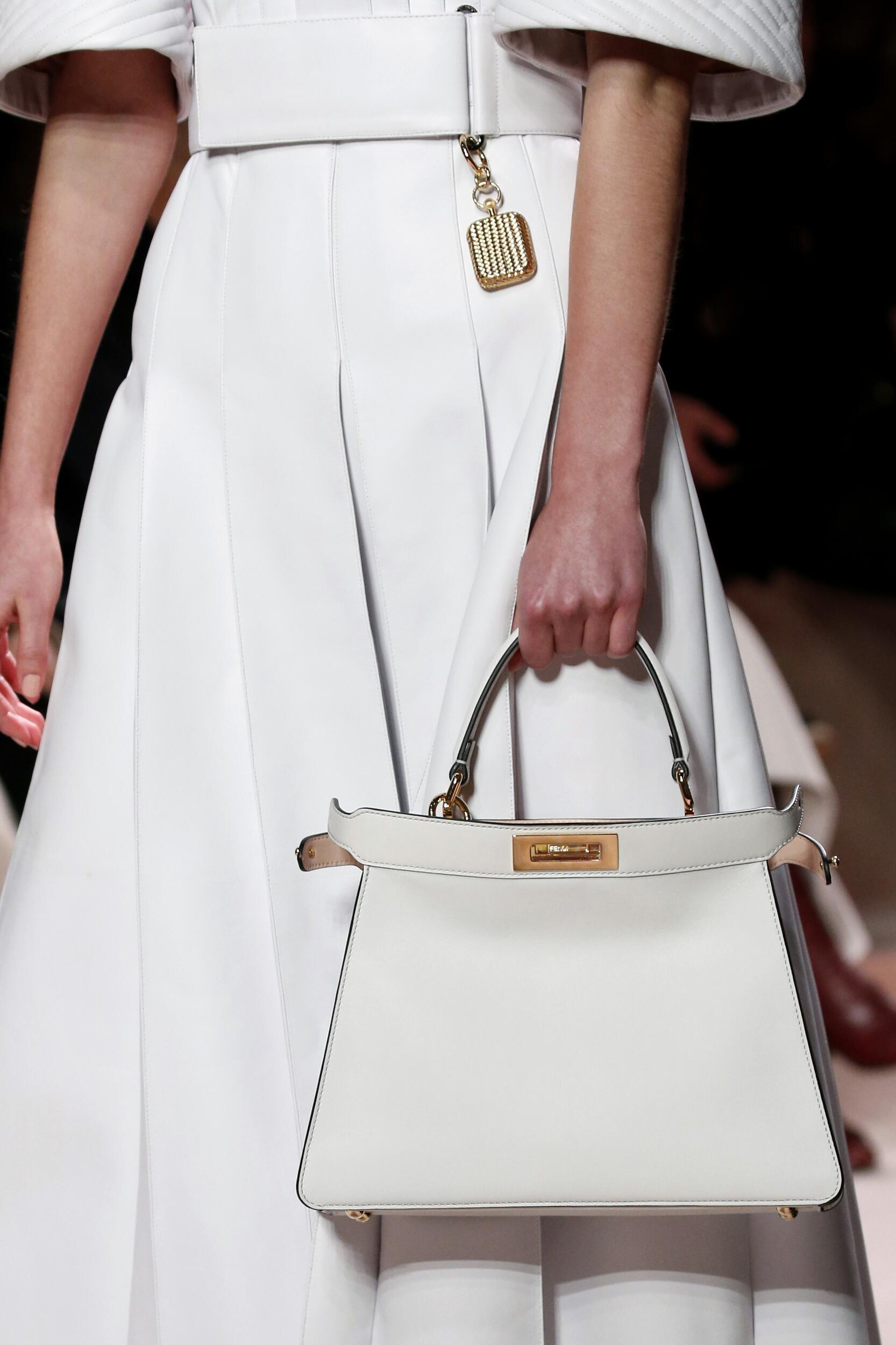 Fendi Detail White Bag 2020 21
