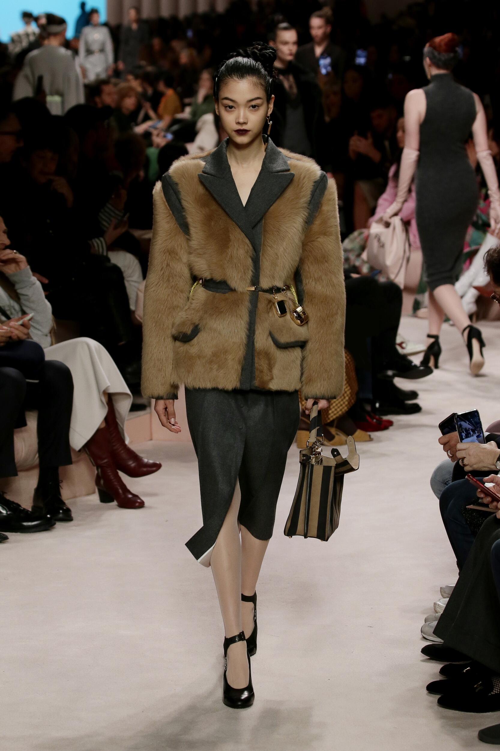 Fendi Fall Winter 2020 Womens Collection Milan Fashion Week