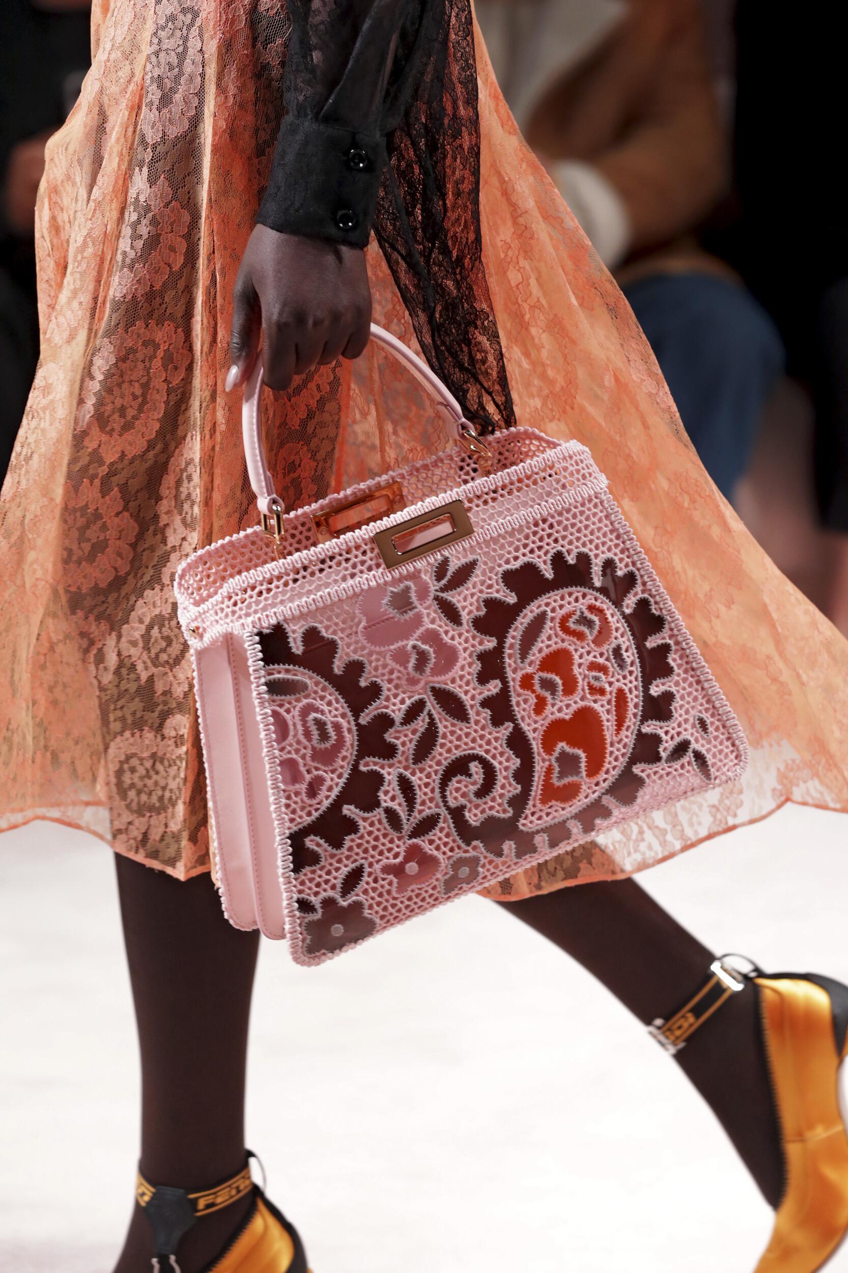 Fendi Milan Fashion Week Bag Detail