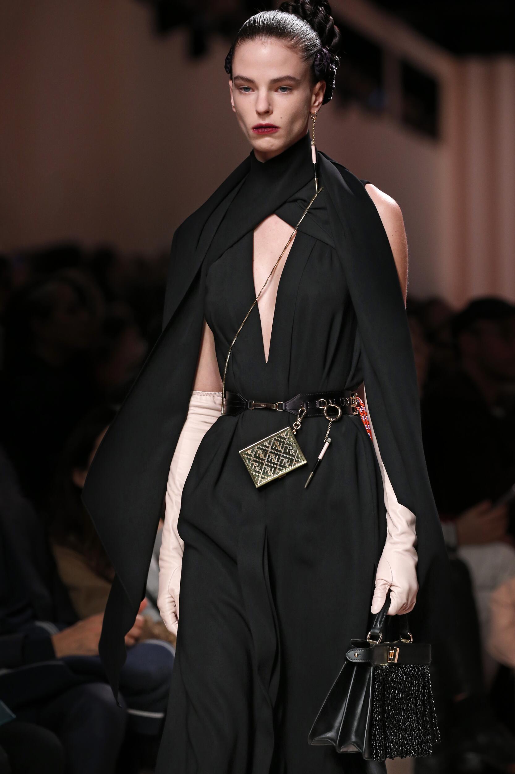 Fendi Milan Fashion Week Detail