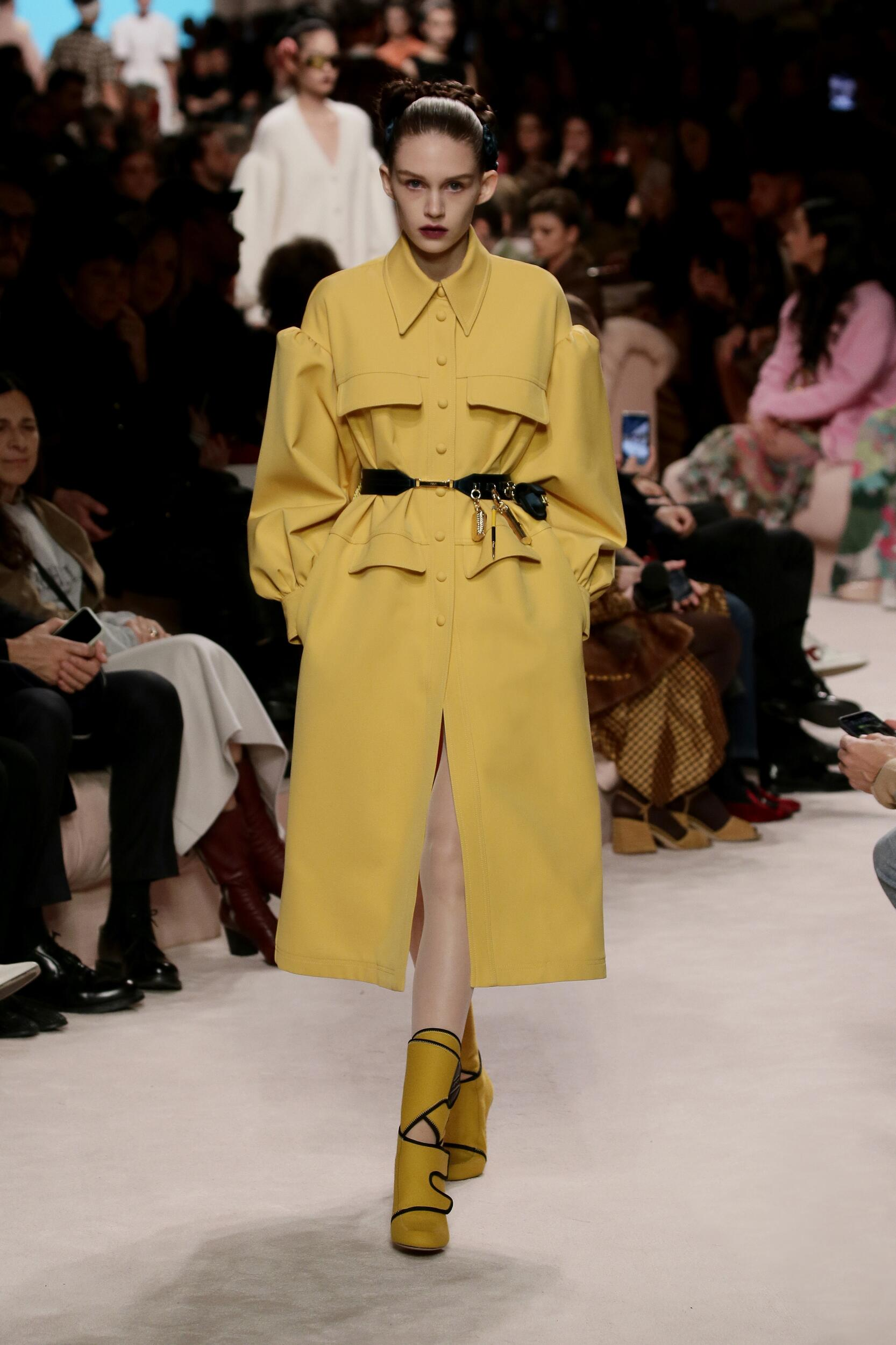 Fendi Winter 2020 Catwalk