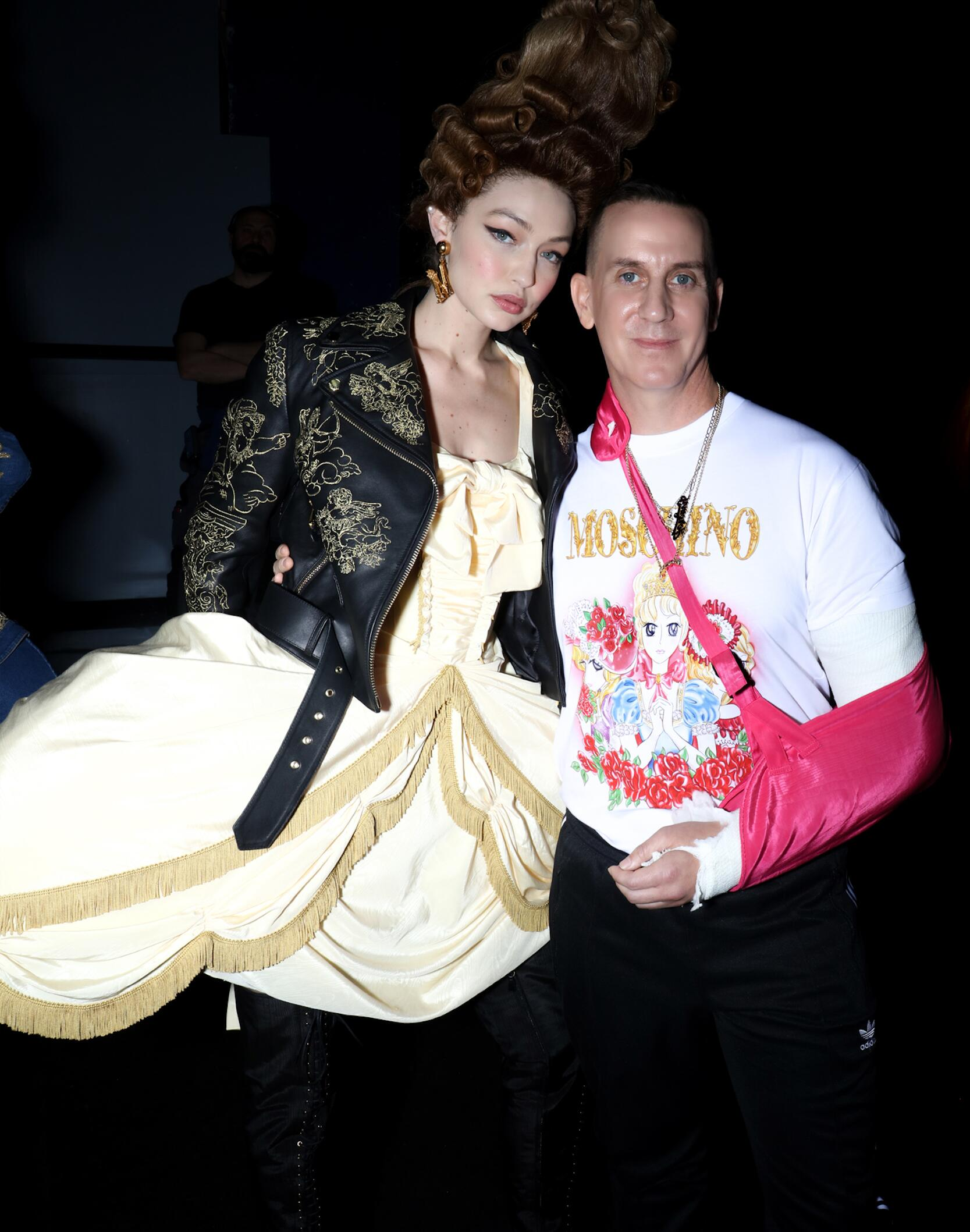 Gigi Hadid and Jeremy Scott