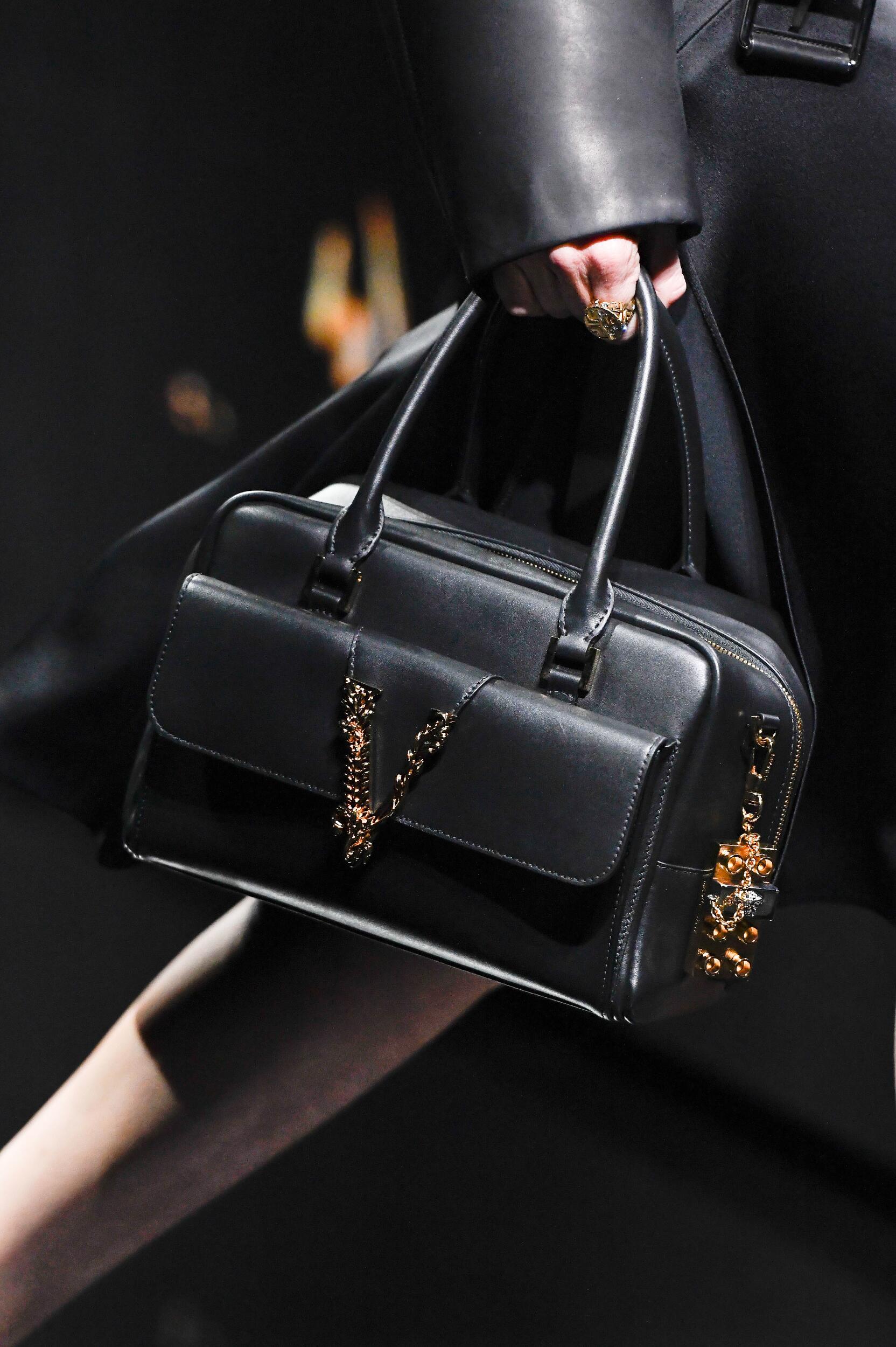 Handbag Versace Fashion Show 2020